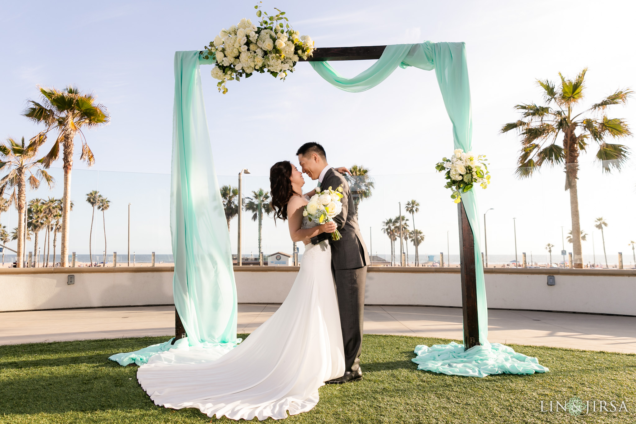 18 Hilton Waterfront Beach Resort Huntington Beach Wedding Photography