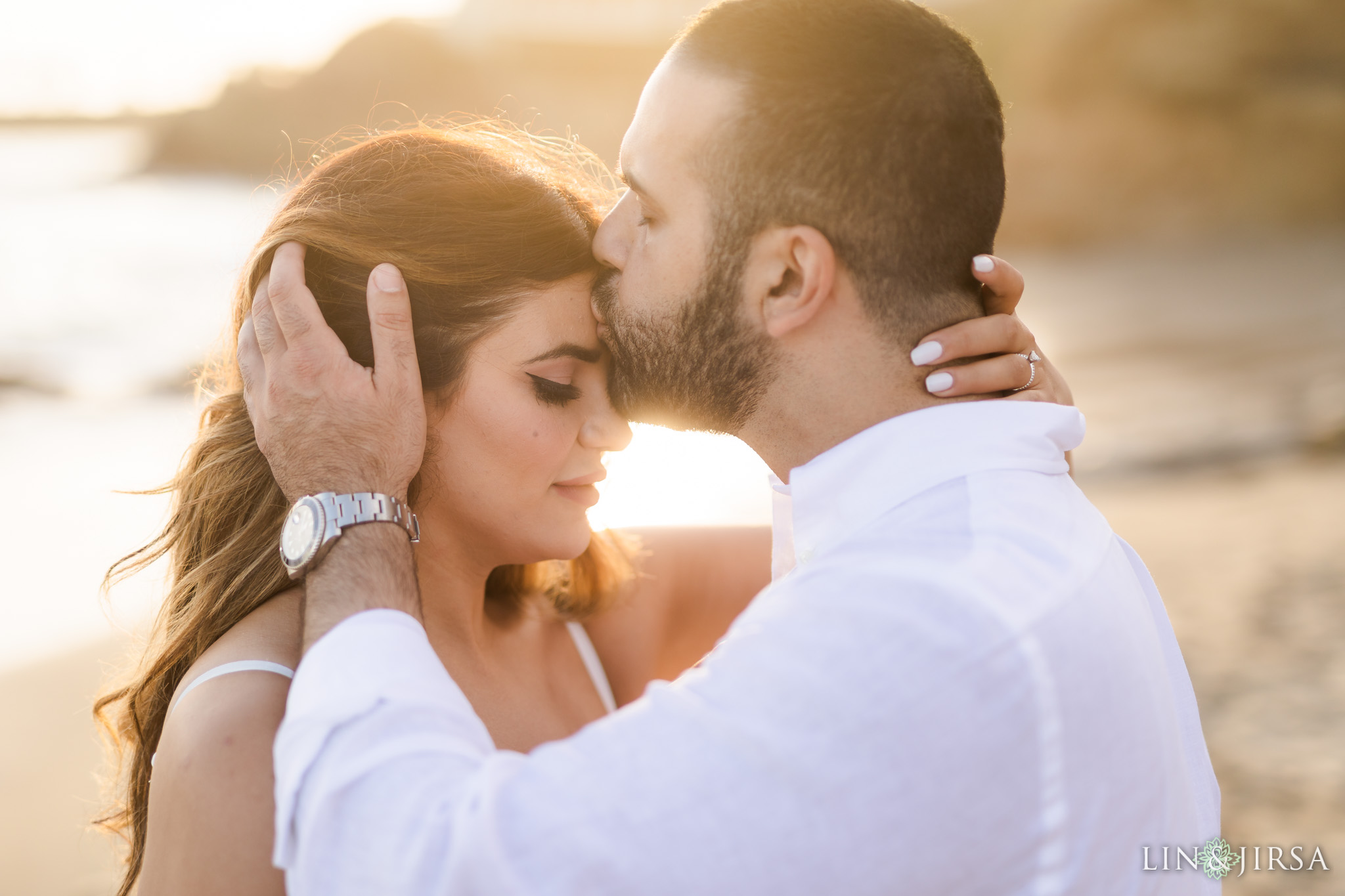19 Heisler Beach Orange County Engagement Photography