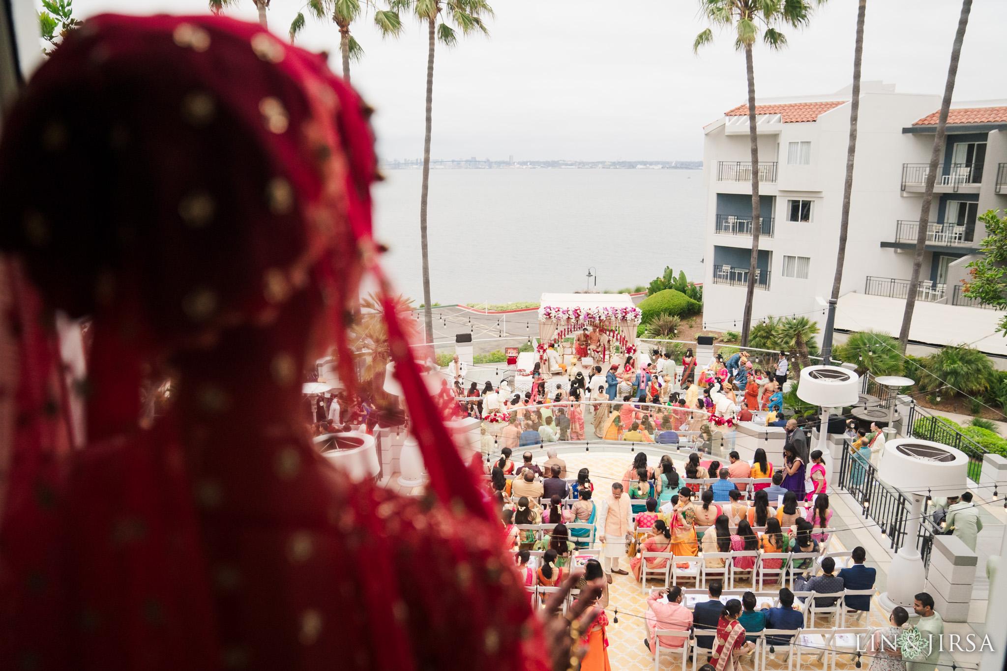 19 Loews Coronado Bay Resort San Diego Indian Wedding Photography