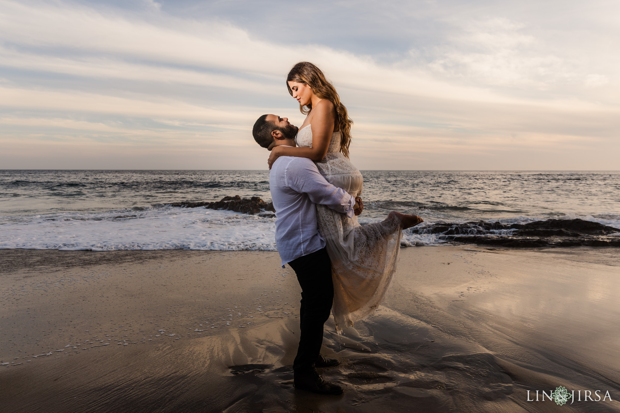22 Heisler Beach Orange County Engagement Photography