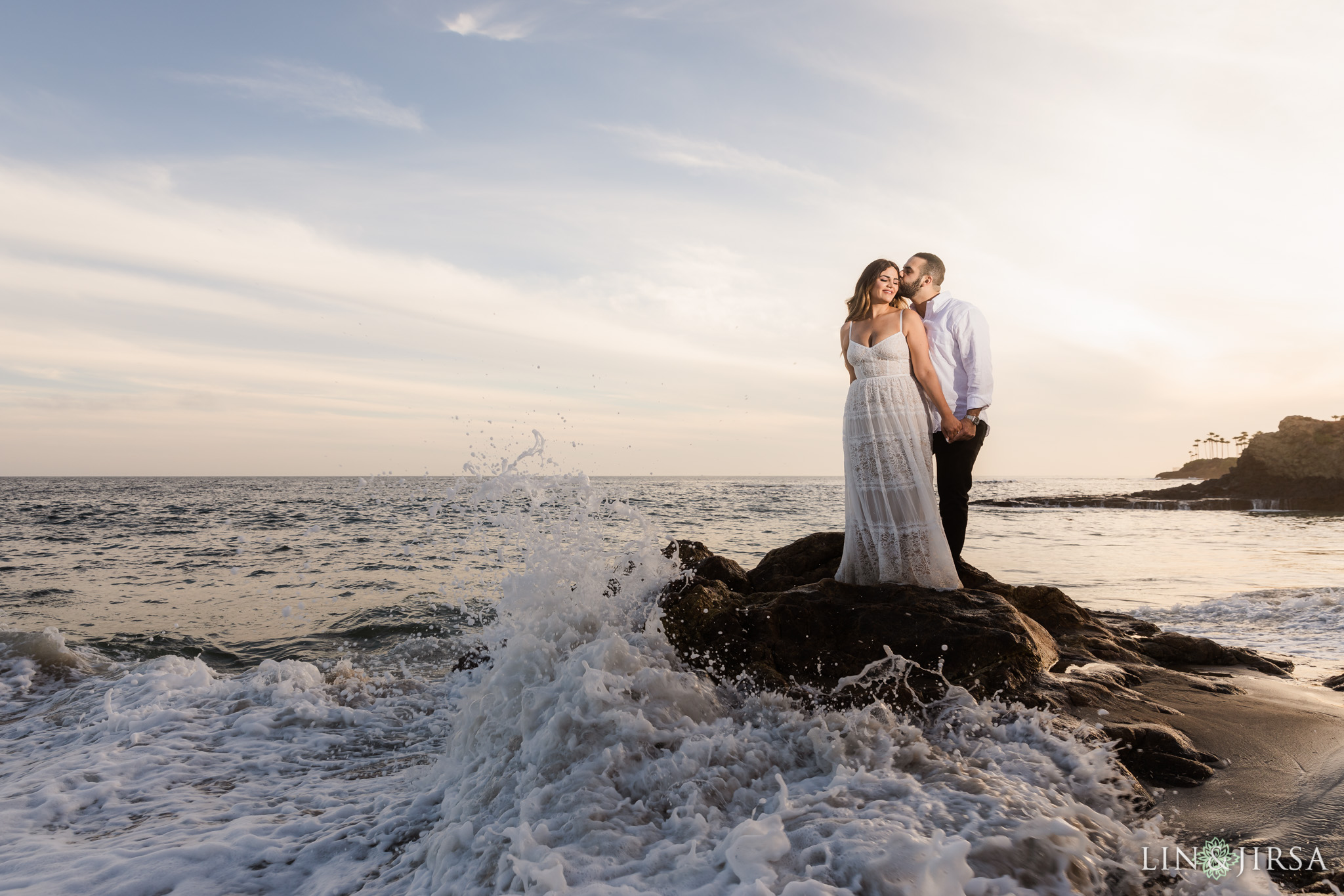 23 Heisler Beach Orange County Engagement Photography