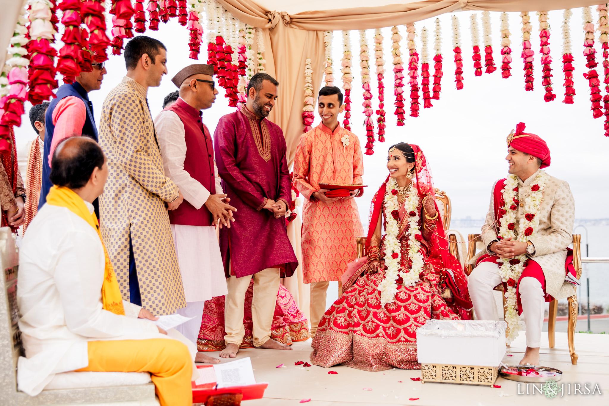 23 Loews Coronado Bay Resort San Diego Indian Wedding Photography