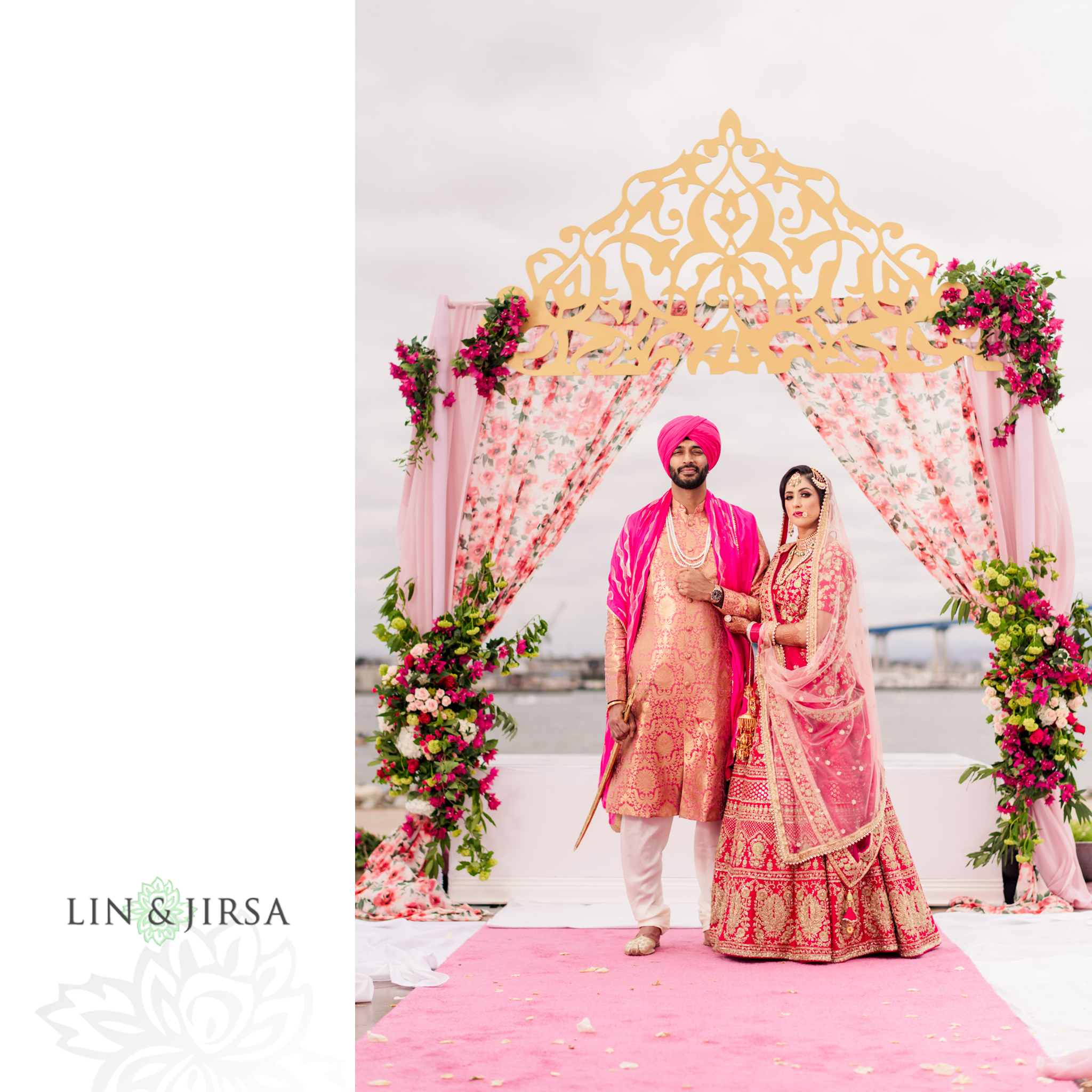 24 Coronado Resort and Spa San Diego Punjabi Wedding Photography