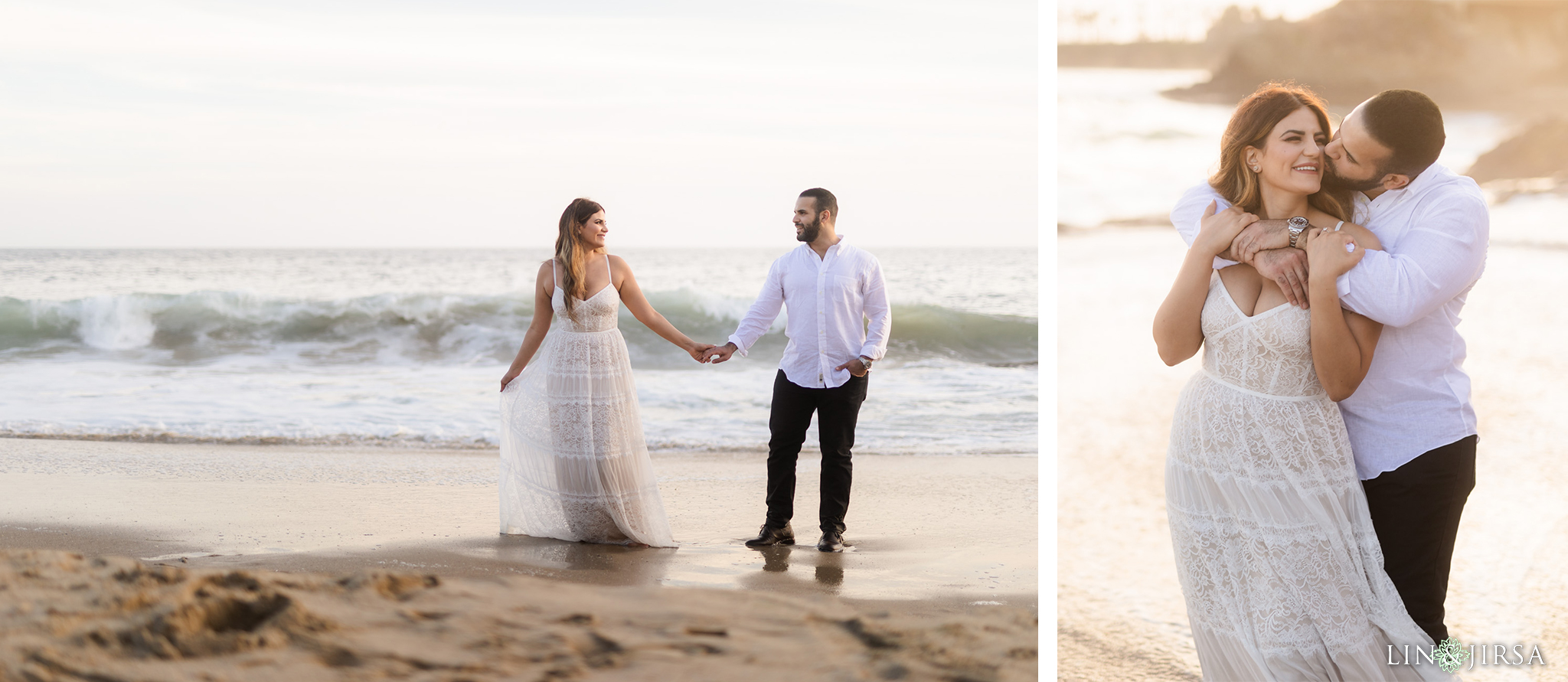 24 Heisler Beach Orange County Engagement Photography