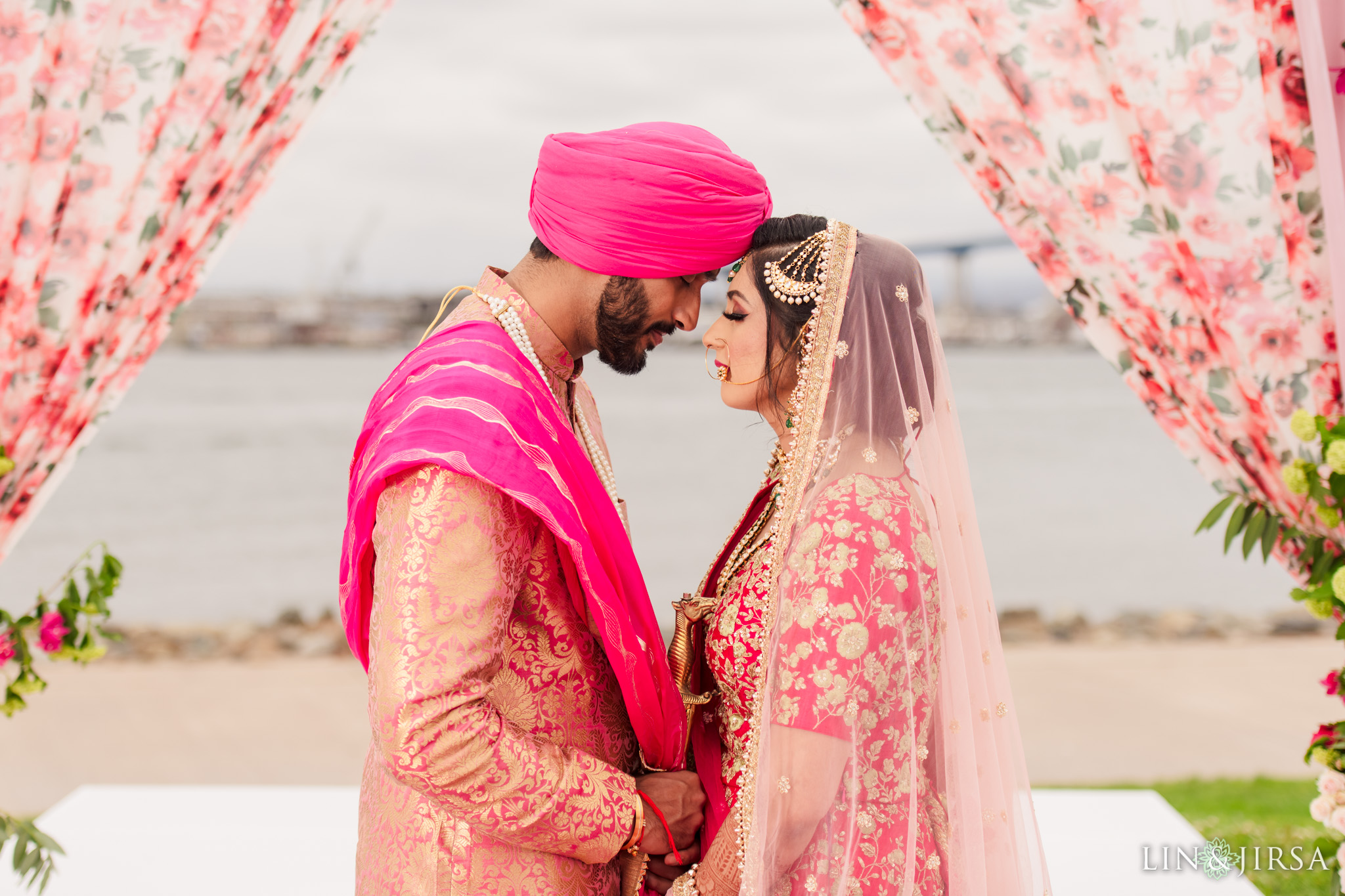 25 Coronado Resort and Spa San Diego Punjabi Wedding Photography