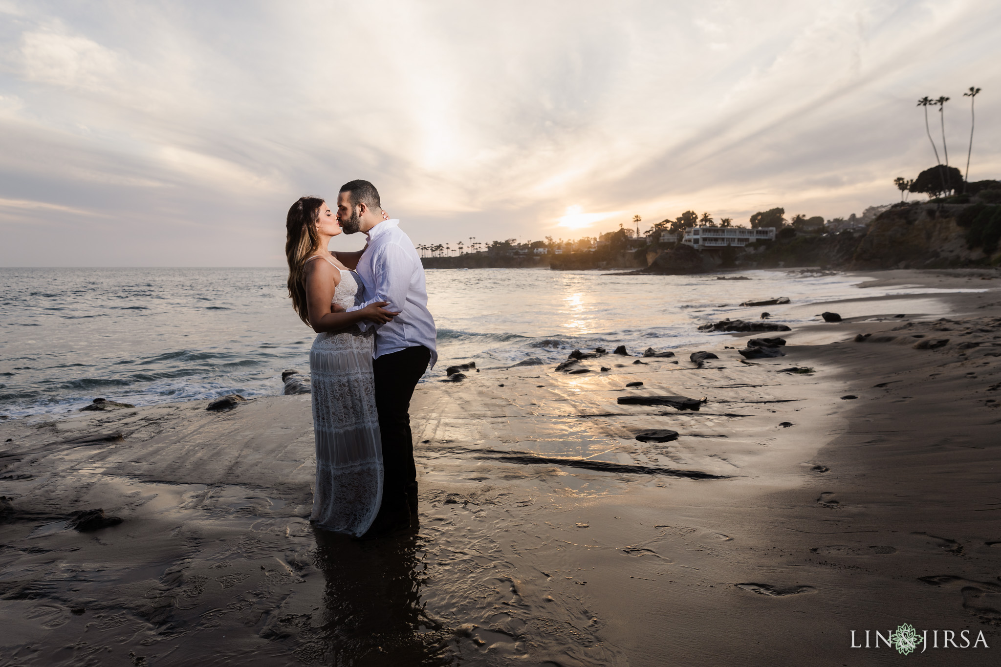 25 Heisler Beach Orange County Engagement Photography