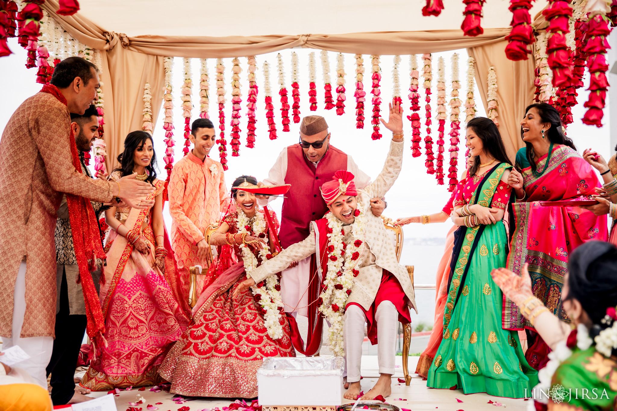 25 Loews Coronado Bay Resort San Diego Indian Wedding Photography