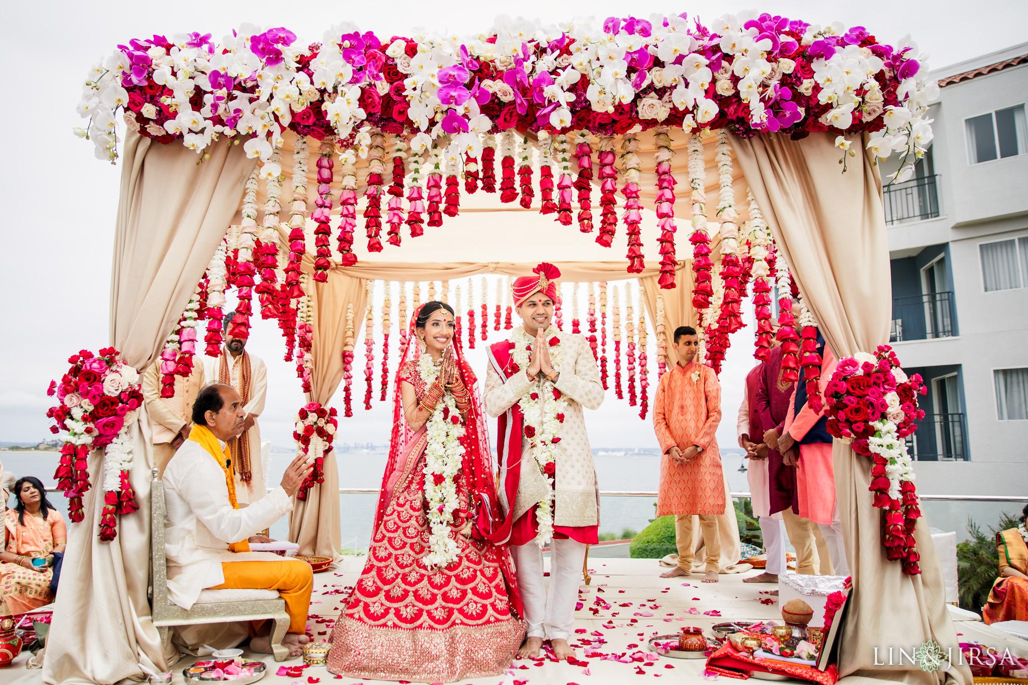 26 Loews Coronado Bay Resort San Diego Indian Wedding Photography