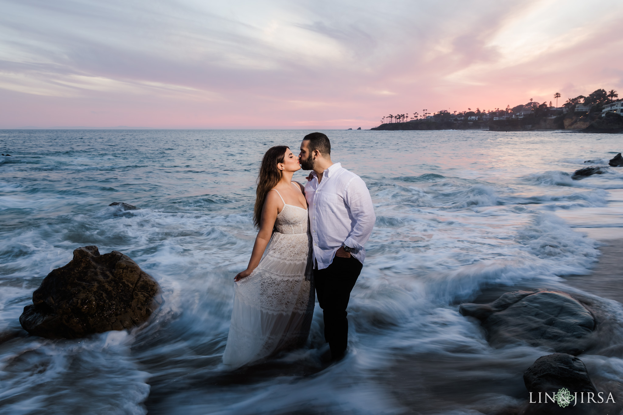 27 Heisler Beach Orange County Engagement Photography