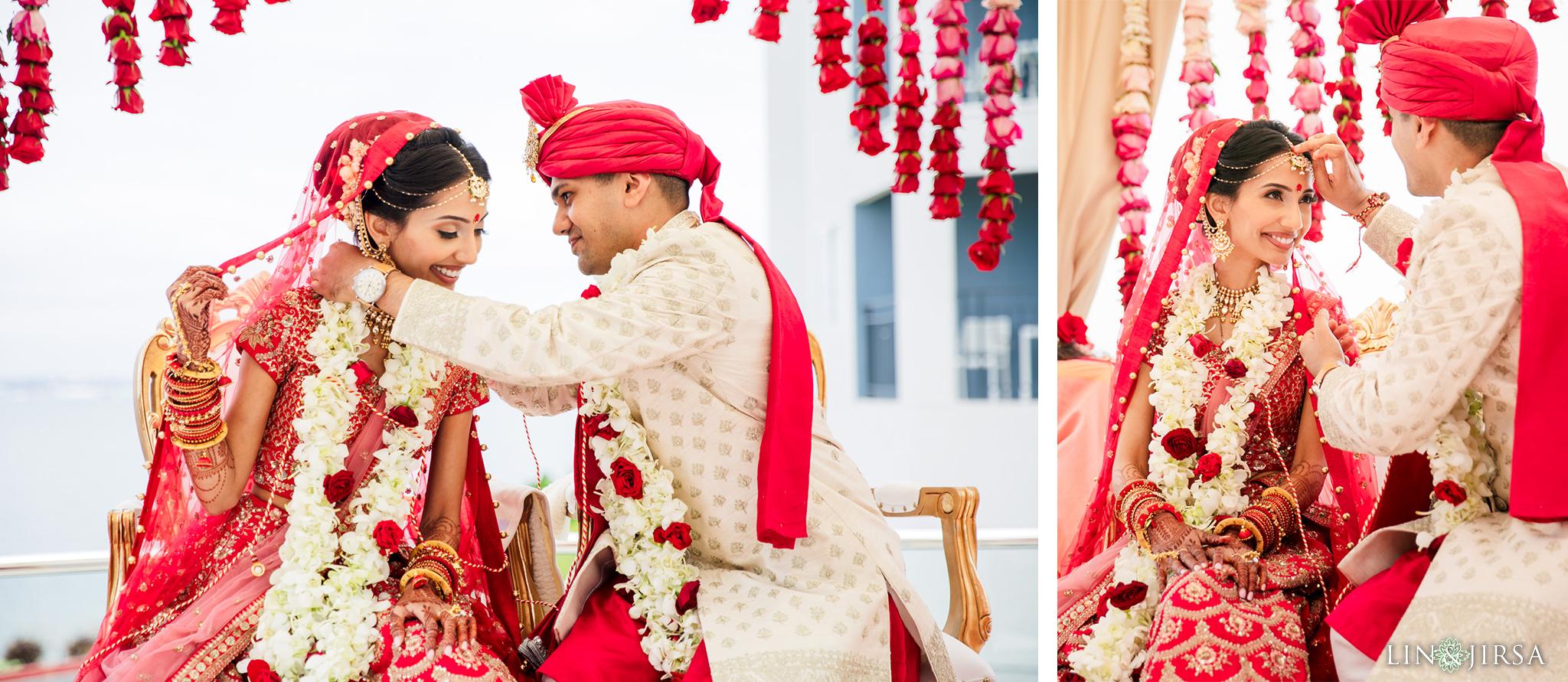 27 Loews Coronado Bay Resort San Diego Indian Wedding Photography