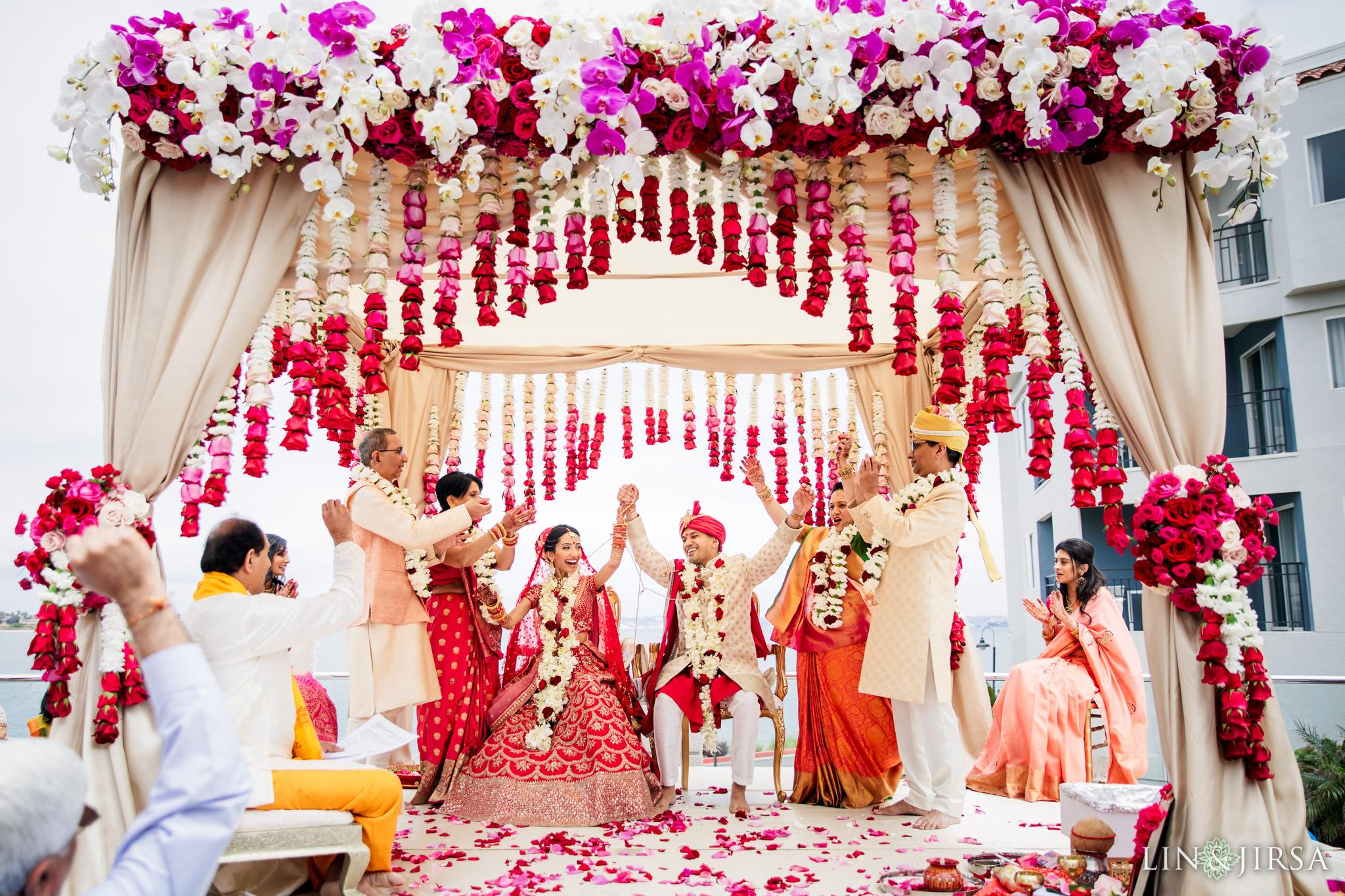 28 Loews Coronado Bay Resort San Diego Indian Wedding Photography