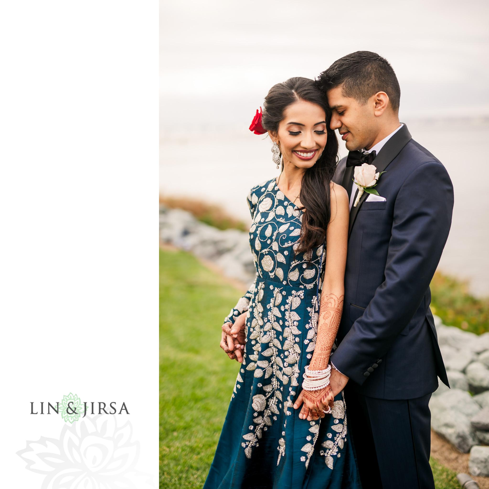 34 Loews Coronado Bay Resort San Diego Indian Wedding Photography