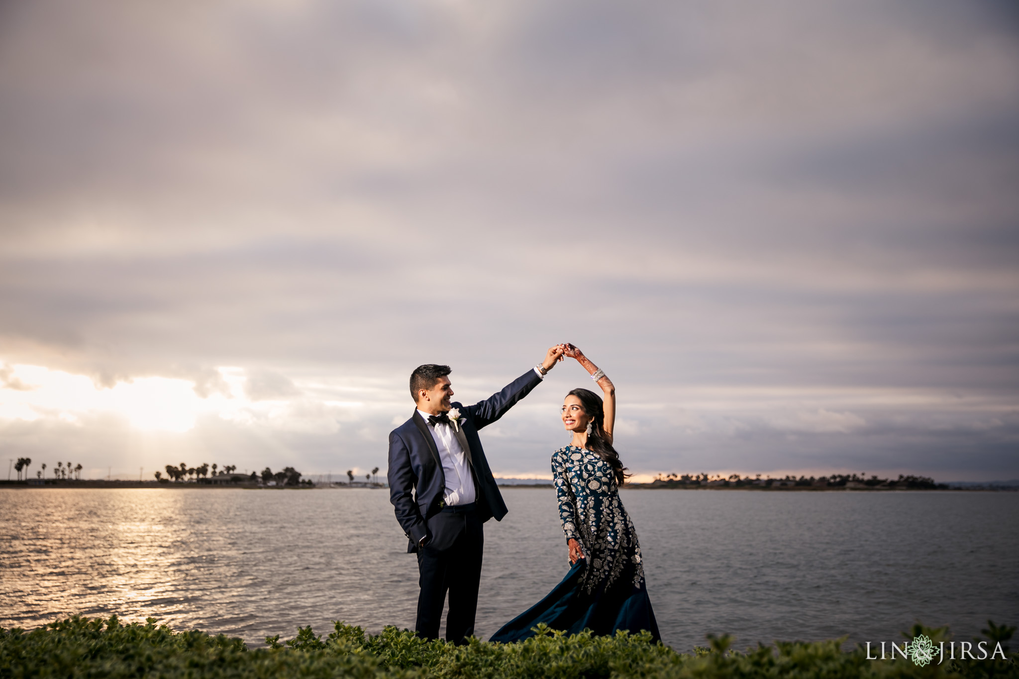 36 Loews Coronado Bay Resort San Diego Indian Wedding Photography