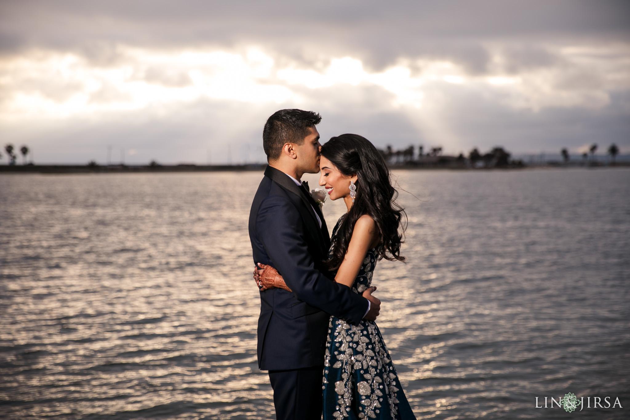 37 Loews Coronado Bay Resort San Diego Indian Wedding Photography