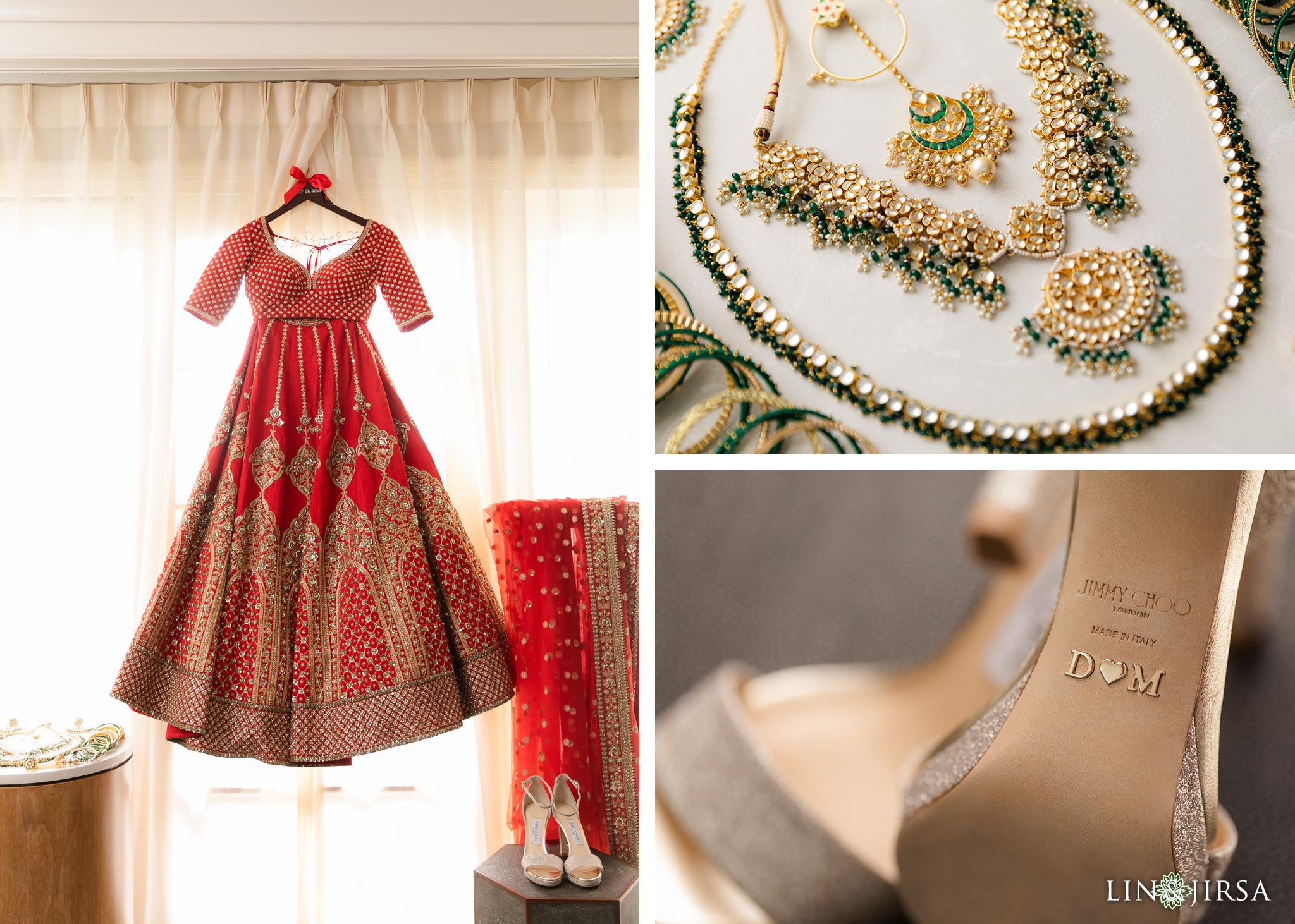 01 Laguna Cliffs Marriott Indian Wedding Reception Photography