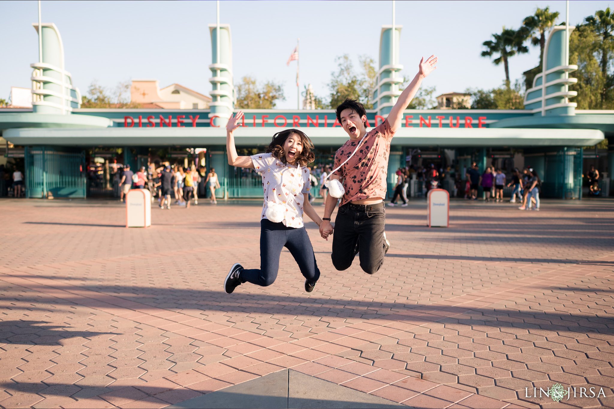 010 Downtown Disney Anaheim Engagement Photography