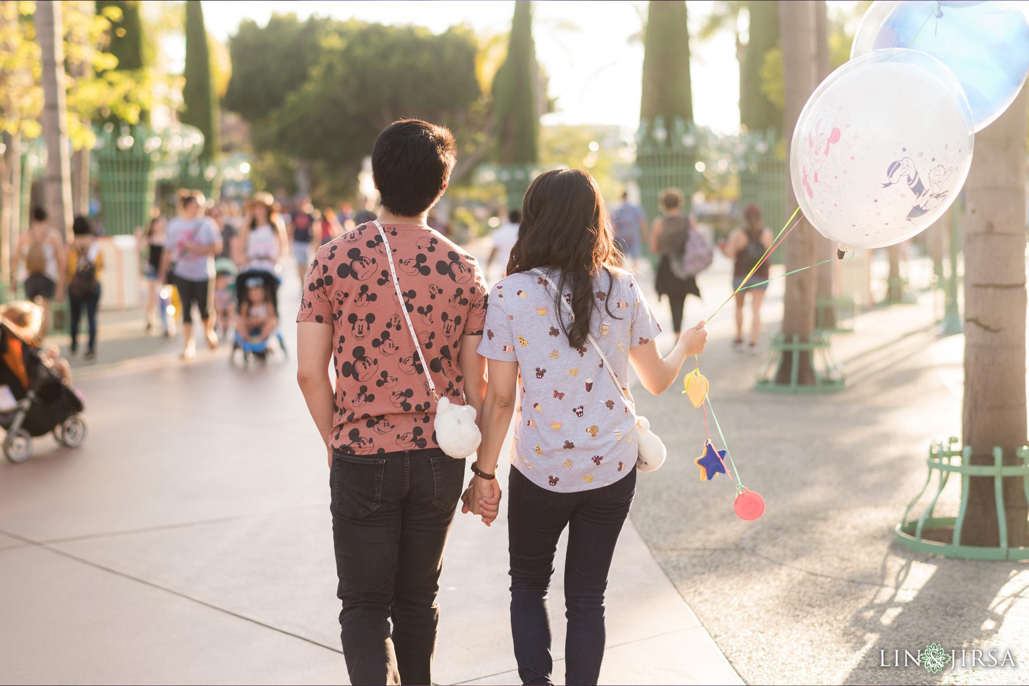 012 Downtown Disney Anaheim Engagement Photography