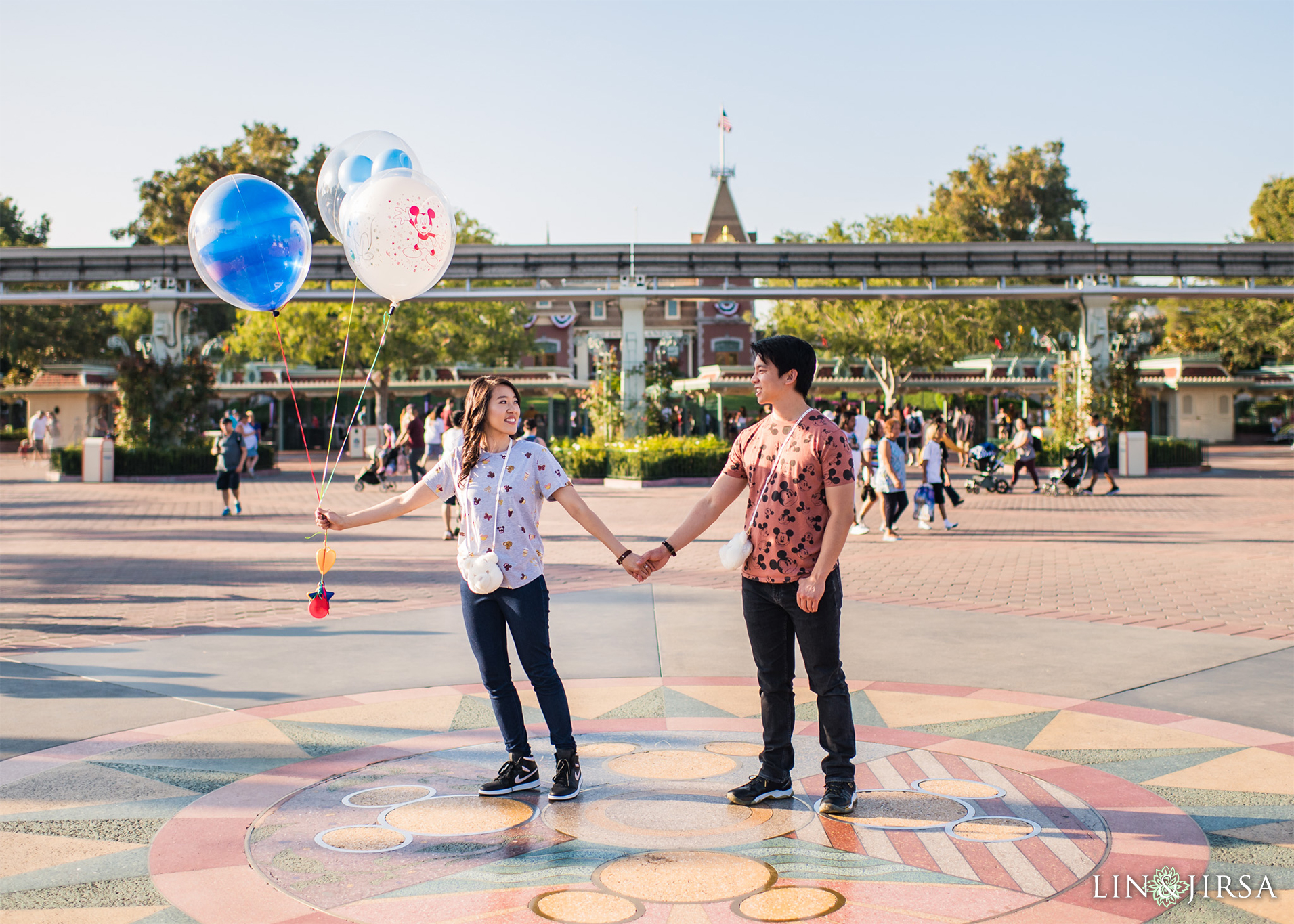 014 Downtown Disney Anaheim Engagement Photography