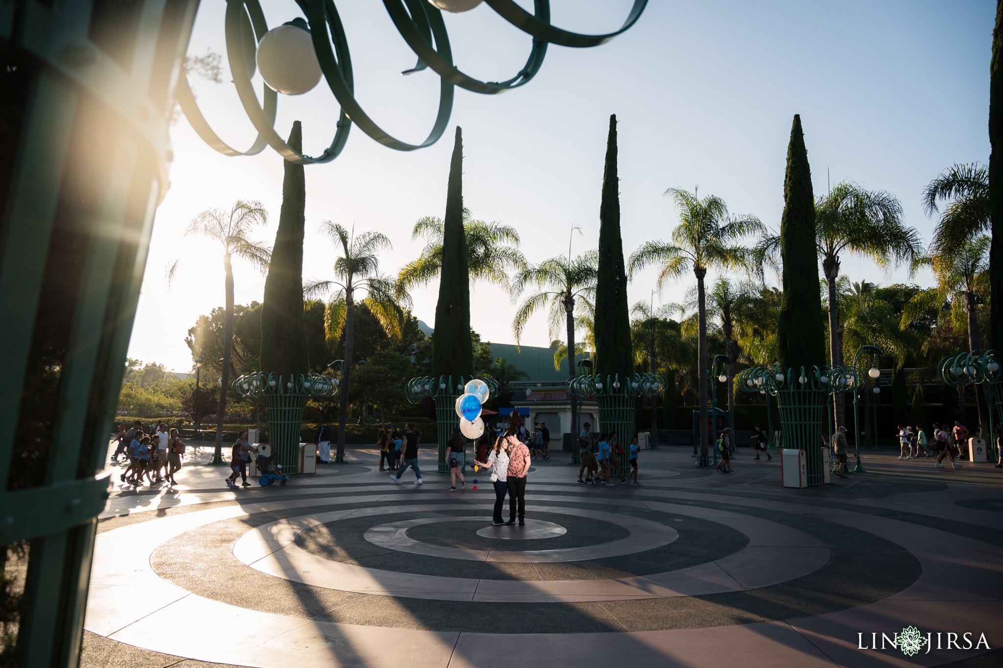 015 Downtown Disney Anaheim Engagement Photography