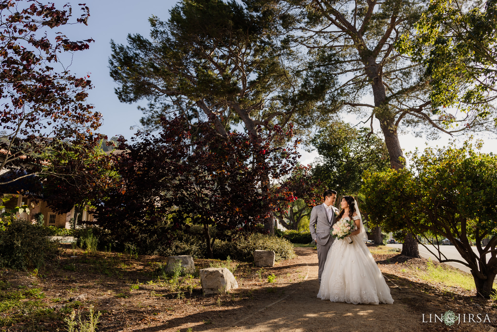 04 Malaga Cove Plaza Rancho Palos Verdes Engagement Photography