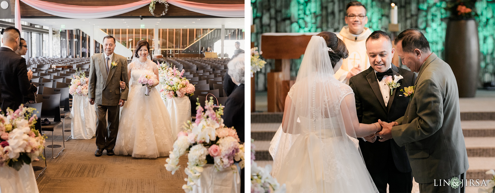 15 Christ Cathedral Garden Grove Wedding Ceremony Photography