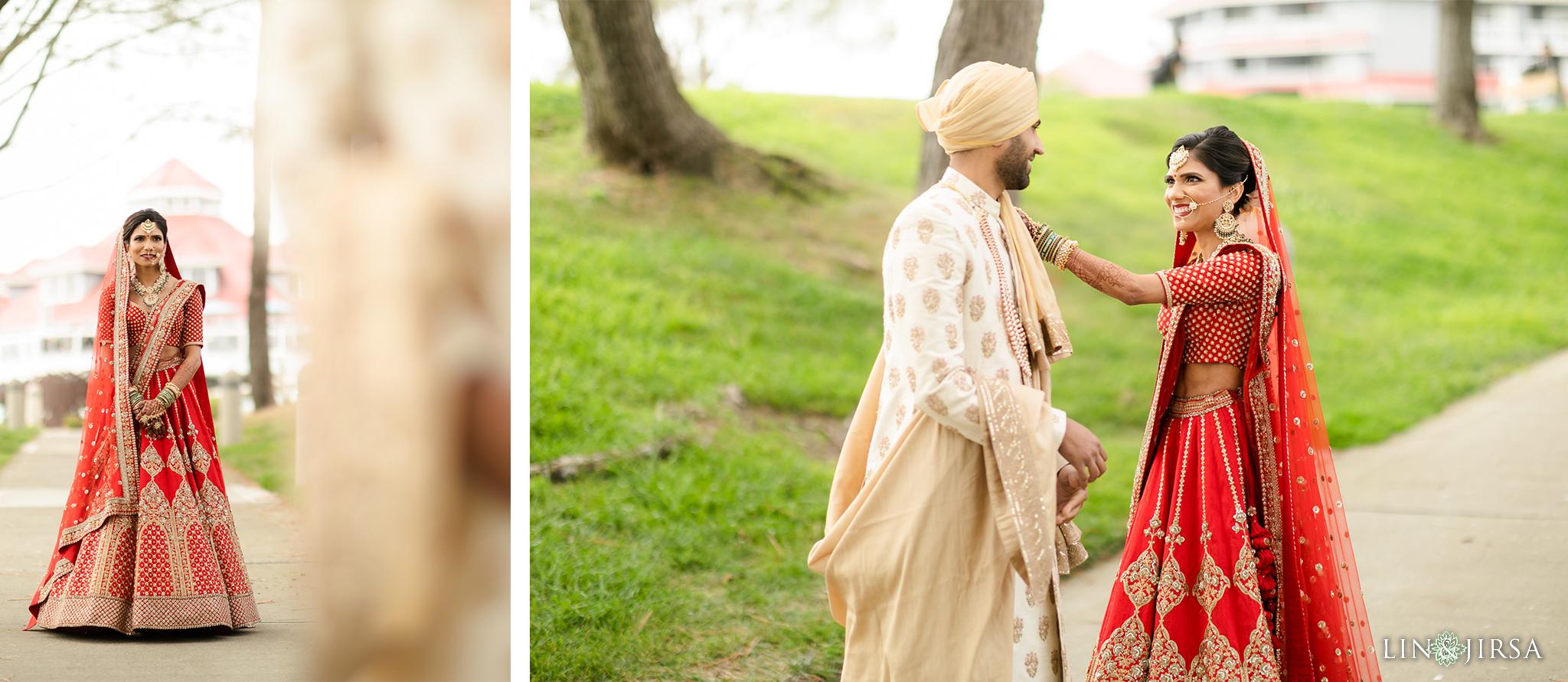 15 Laguna Cliffs Marriott Indian Wedding Reception Photography