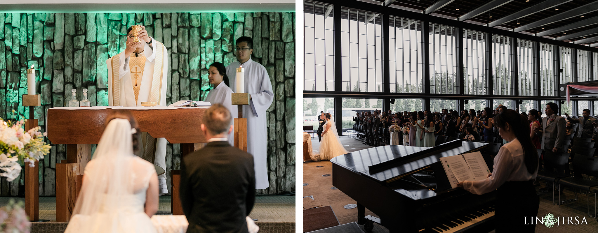 18 Christ Cathedral Garden Grove Wedding Ceremony Photography
