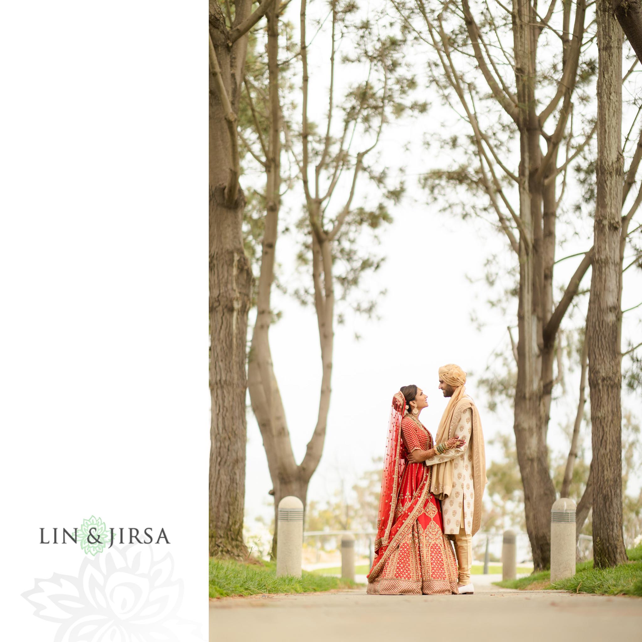 18 Laguna Cliffs Marriott Indian Wedding Reception Photography