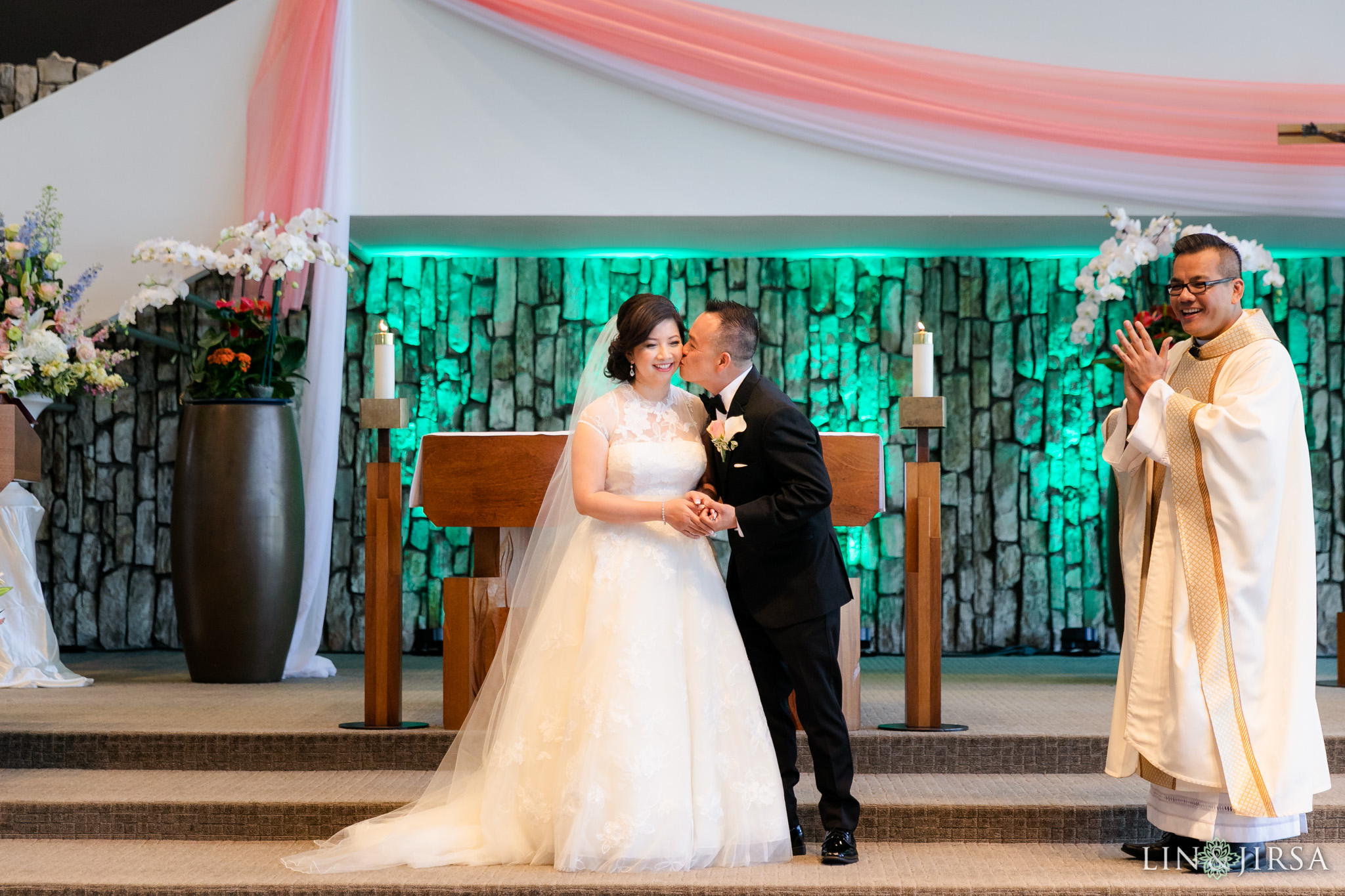 19 Christ Cathedral Garden Grove Wedding Ceremony Photography