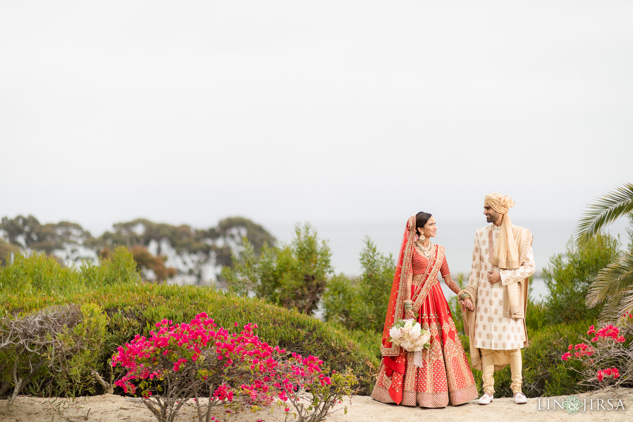 20 Laguna Cliffs Marriott Indian Wedding Reception Photography