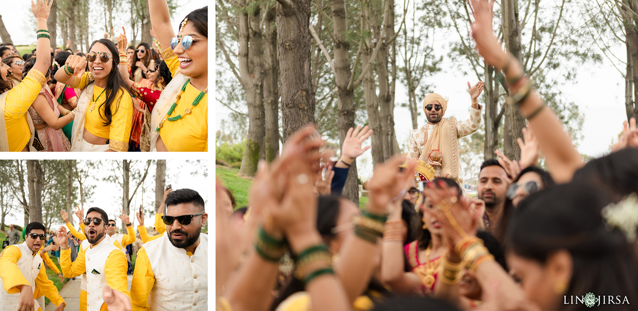 23 Laguna Cliffs Marriott Indian Wedding Baraat Photography