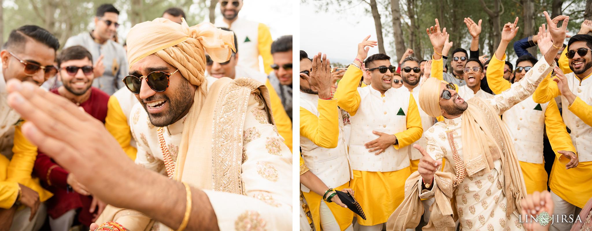 24 Laguna Cliffs Marriott Indian Wedding Reception Photography