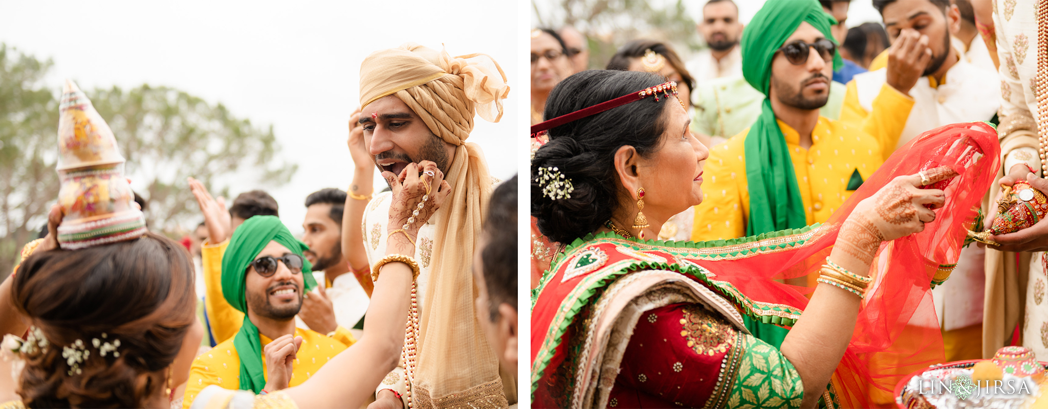 25 Laguna Cliffs Marriott Indian Wedding Reception Photography