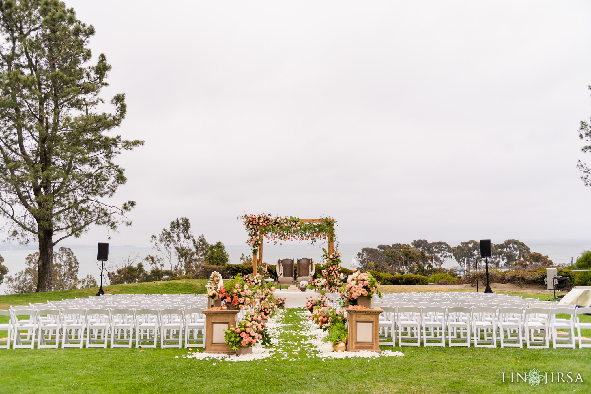 27 Laguna Cliffs Marriott Indian Wedding Ceremony Photography