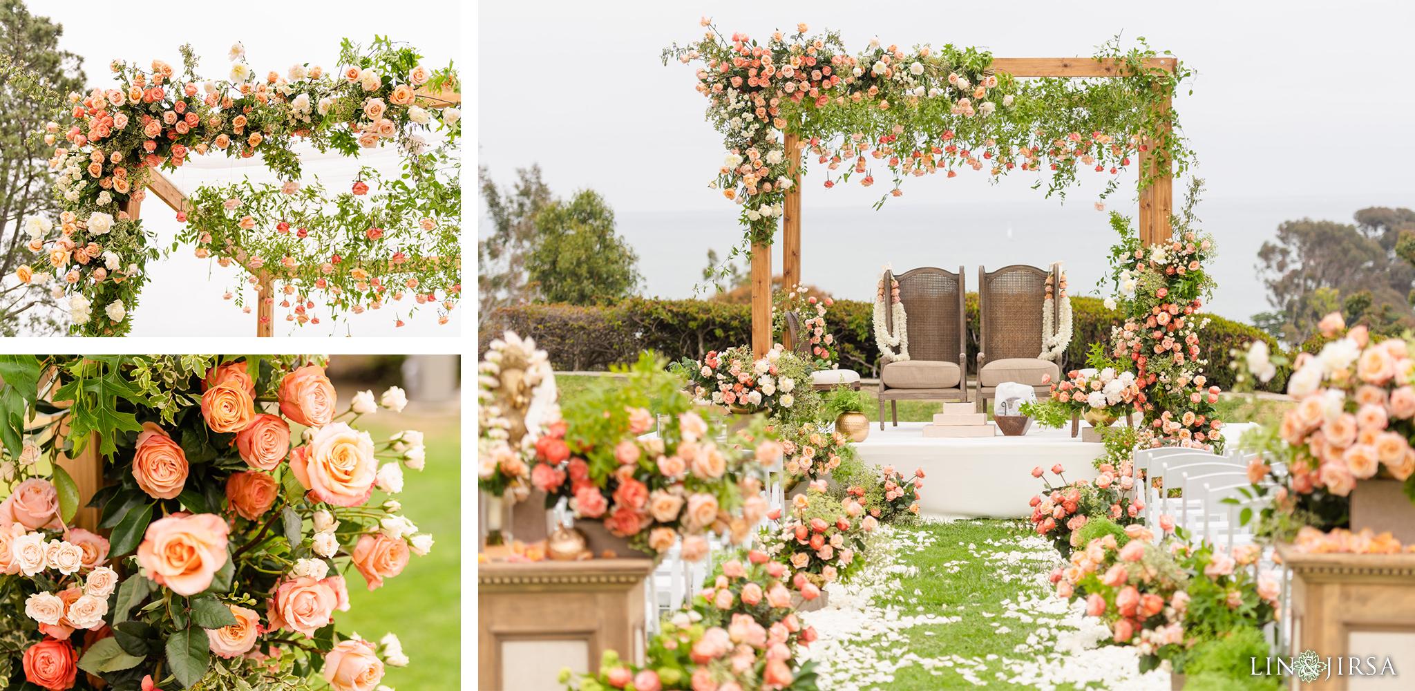 30 Laguna Cliffs Marriott Indian Wedding Ceremony Photography