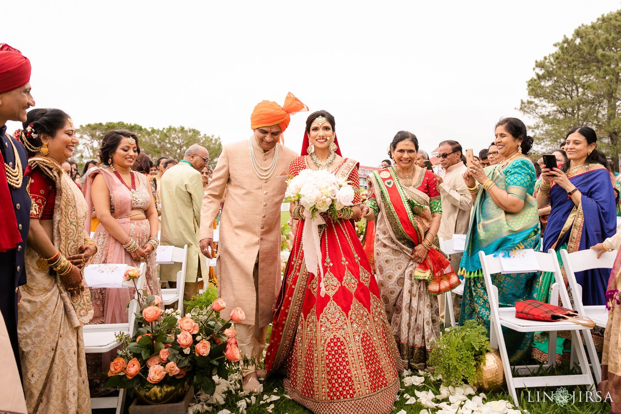 33 Laguna Cliffs Marriott Indian Wedding Ceremony Photography
