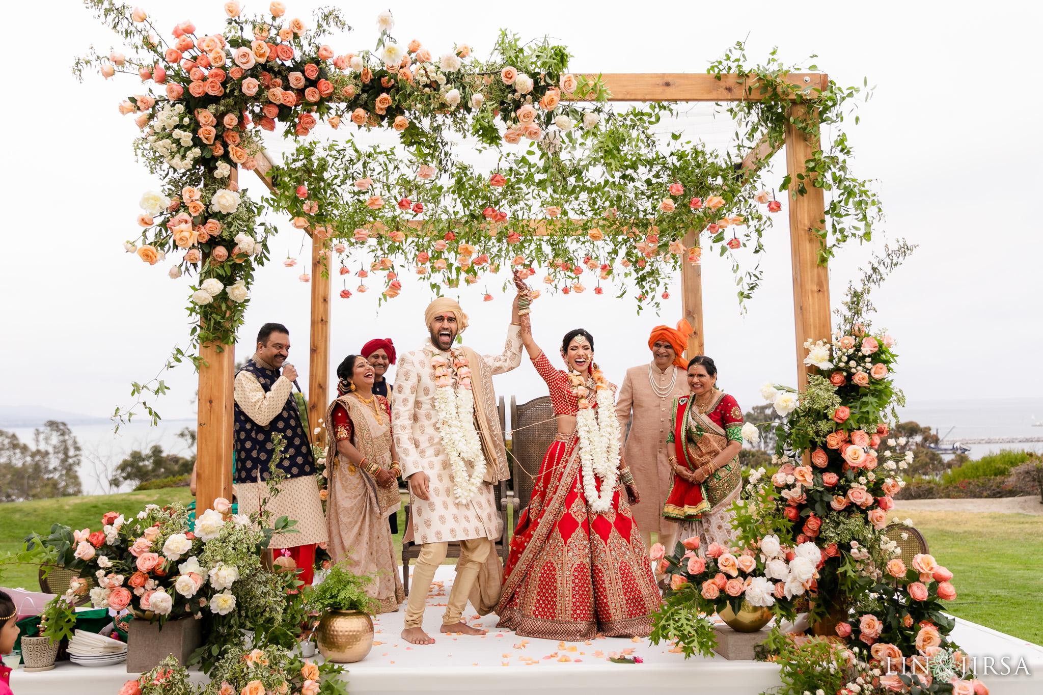 37 Laguna Cliffs Marriott Indian Wedding Ceremony Photography