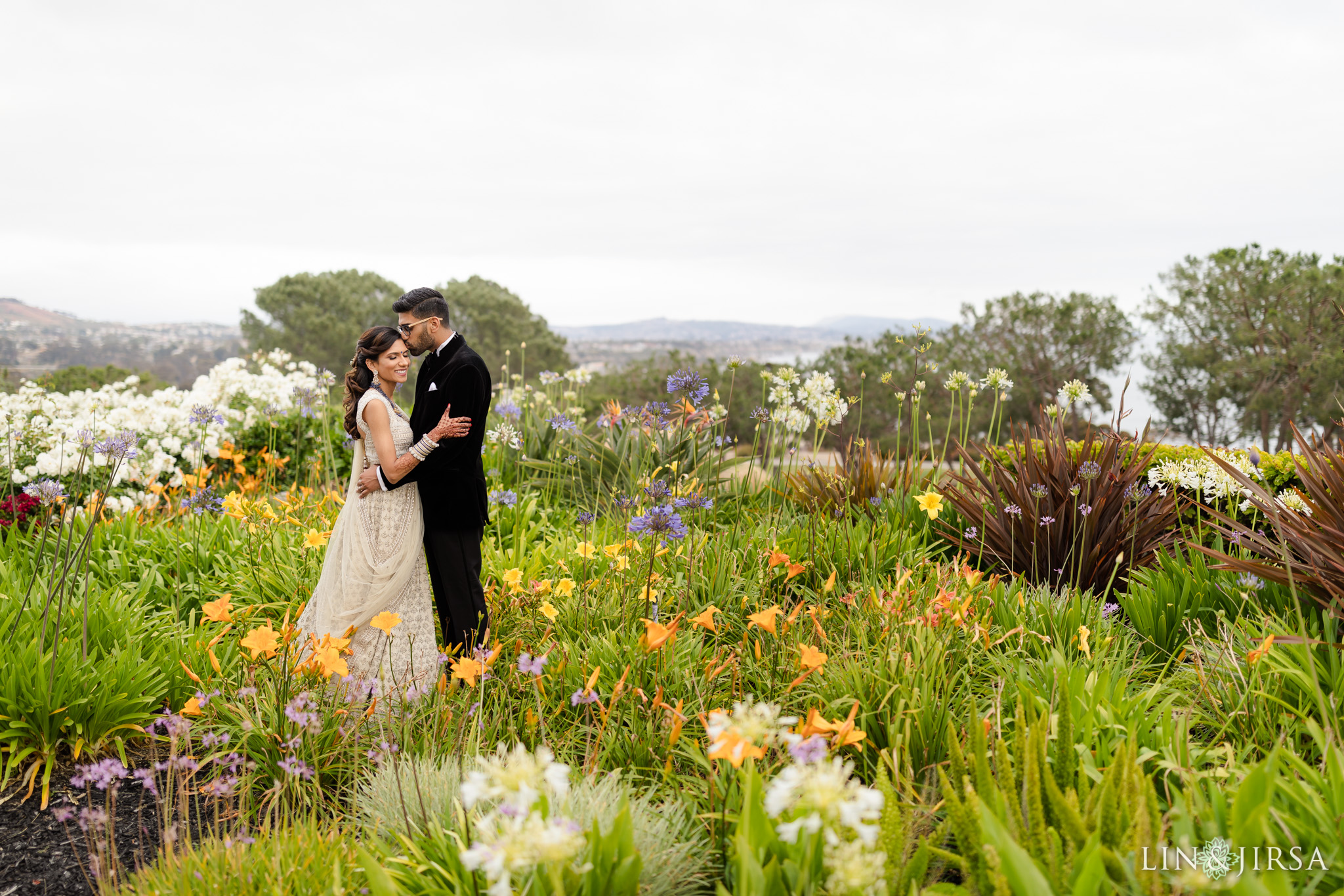 48 Laguna Cliffs Marriott Indian Wedding Reception Photographer