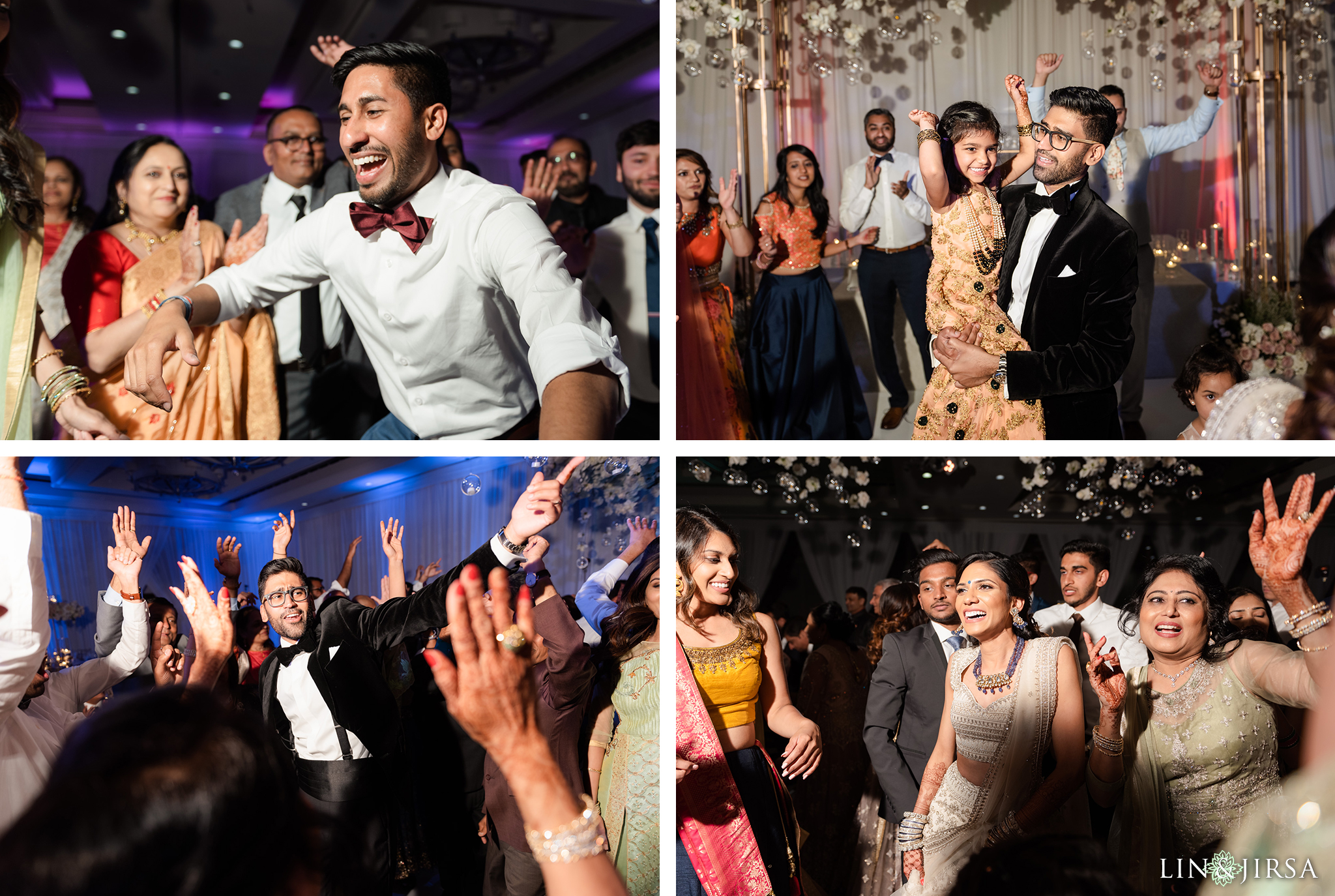 64 Laguna Cliffs Marriott Indian Wedding Reception Photographer