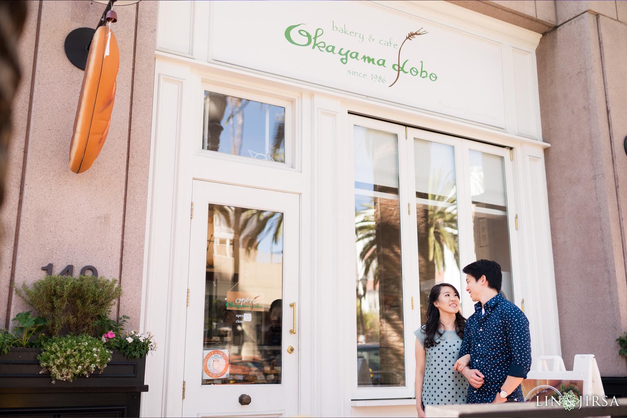 znb Okayama Kobo Bakery Anaheim Engagement Photographer