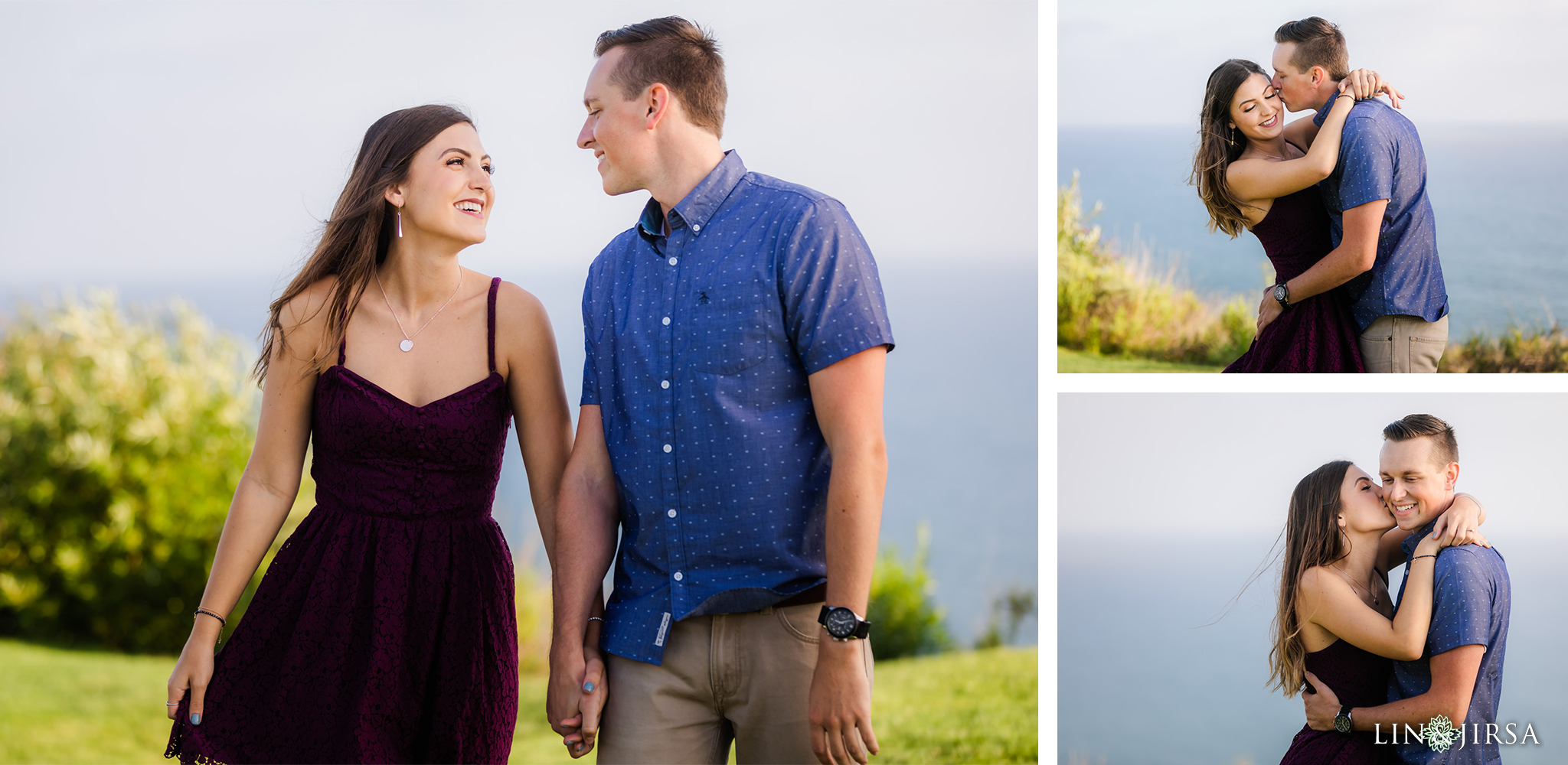 znc Founders Park Los Angeles County Engagement Photography