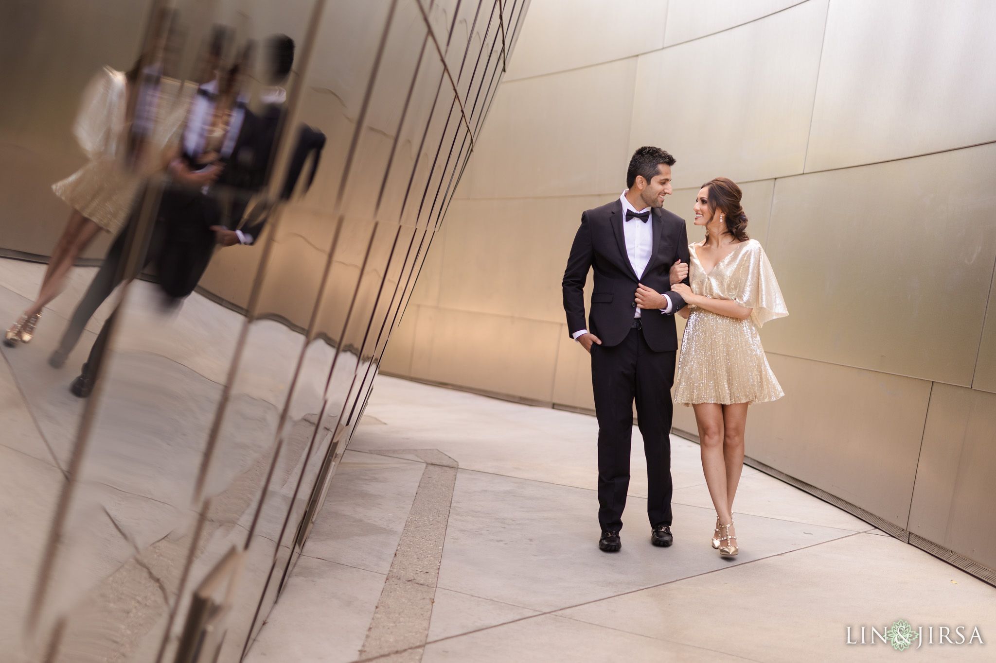 zbb Downtown Los Angeles Walt Disney Concert Hall Engagement Photography