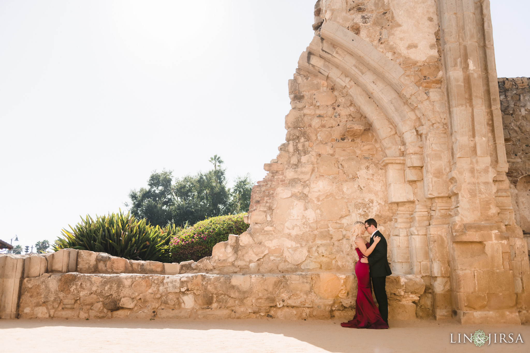 02 San Juan Capistrano Mission Engagement Photography