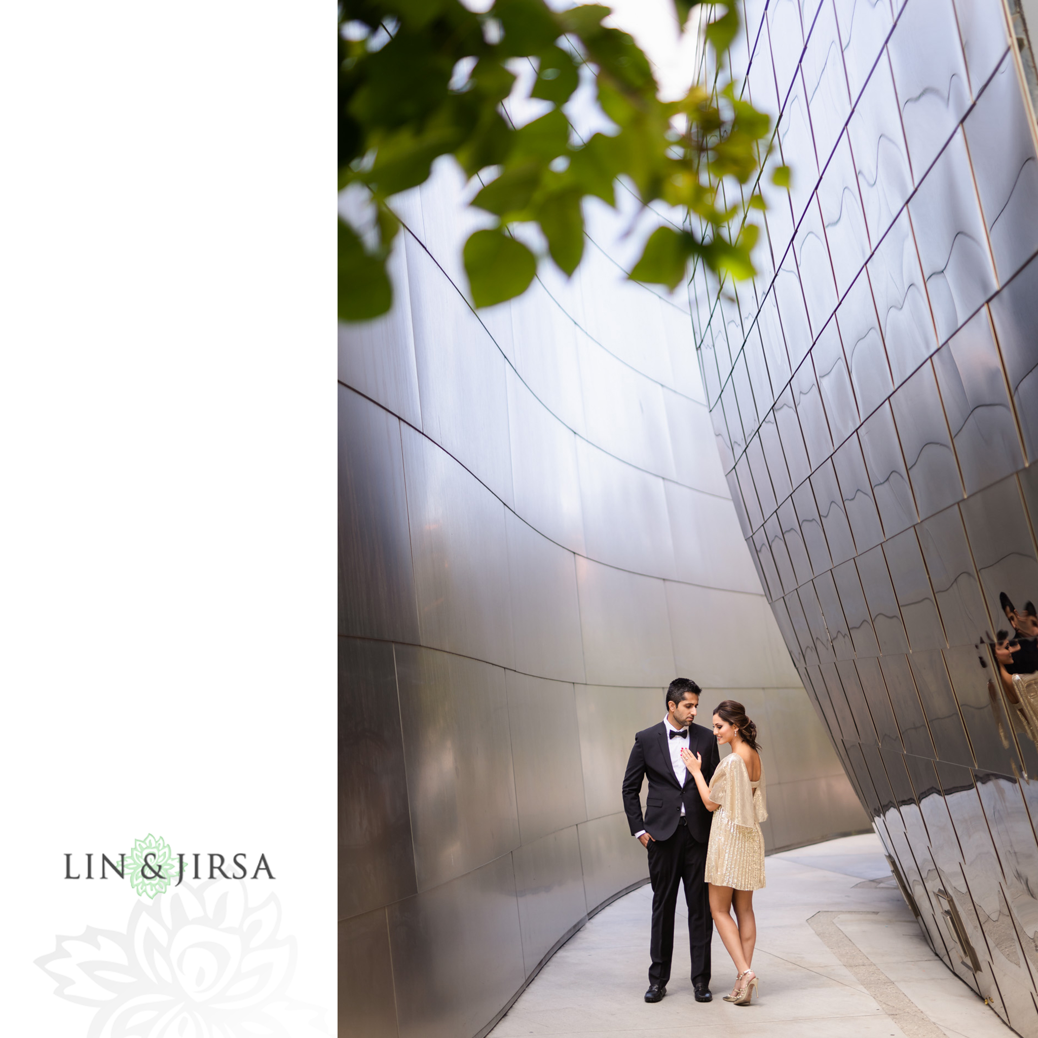 03 Downtown Los Angeles Walt Disney Concert Hall Engagement Photography