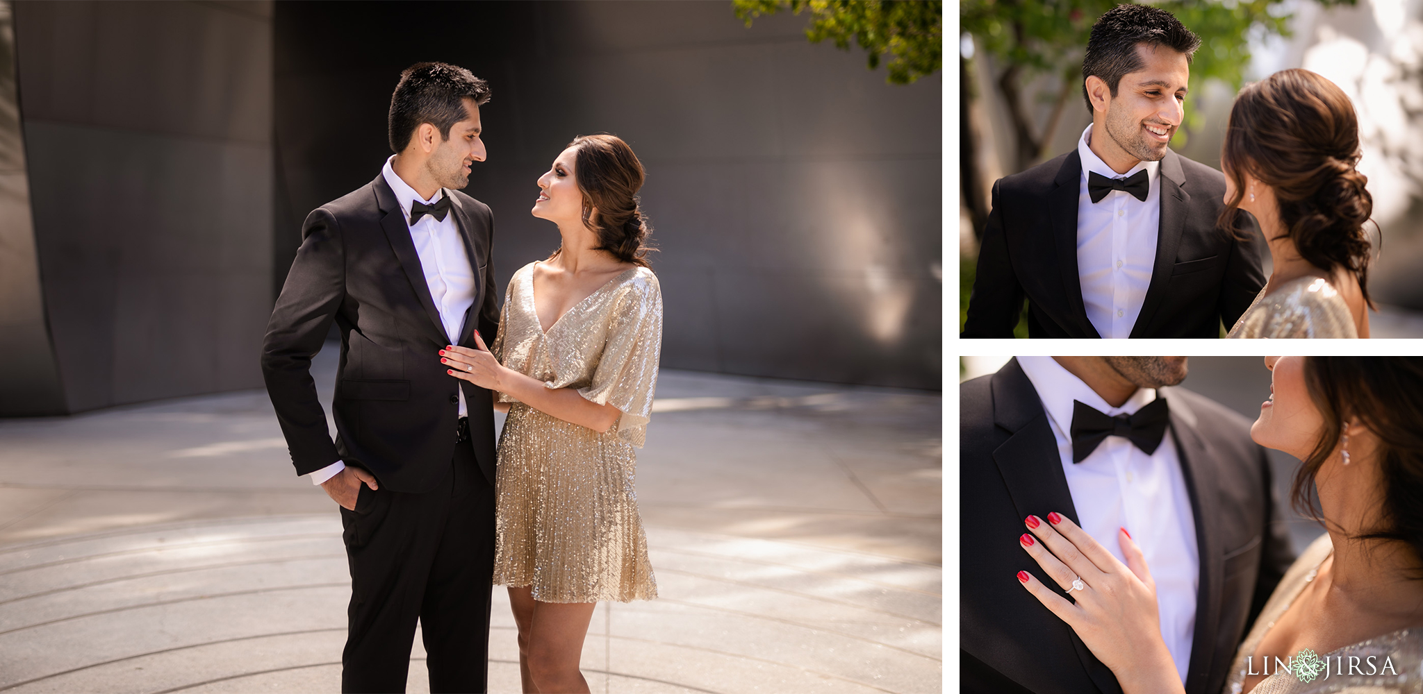 04 Downtown Los Angeles Walt Disney Concert Hall Engagement Photography