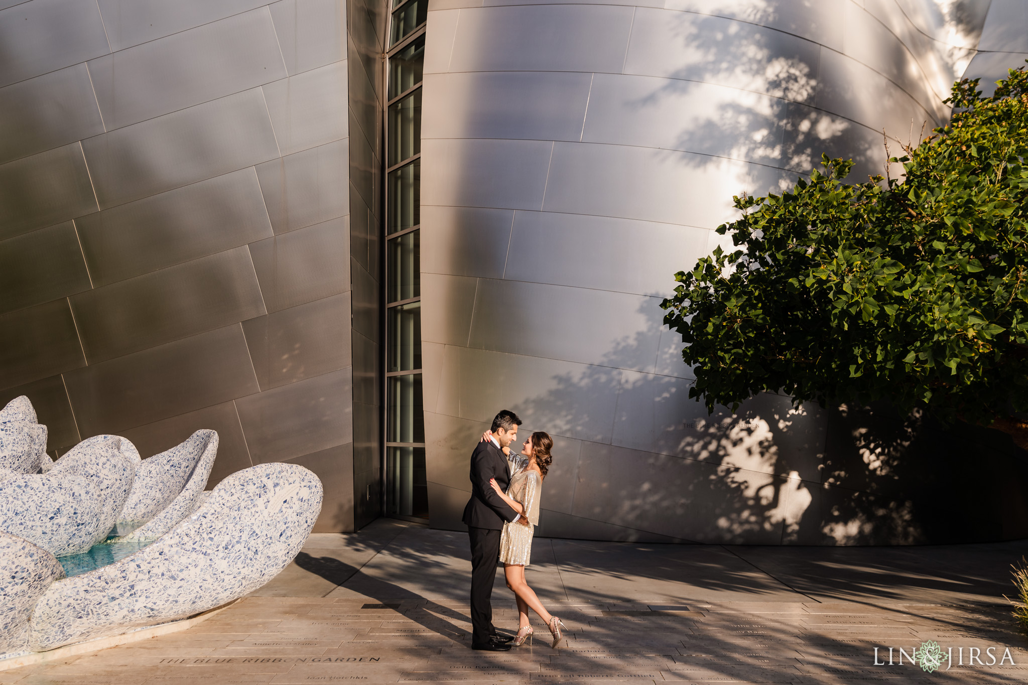 05 Downtown Los Angeles Walt Disney Concert Hall Engagement Photography