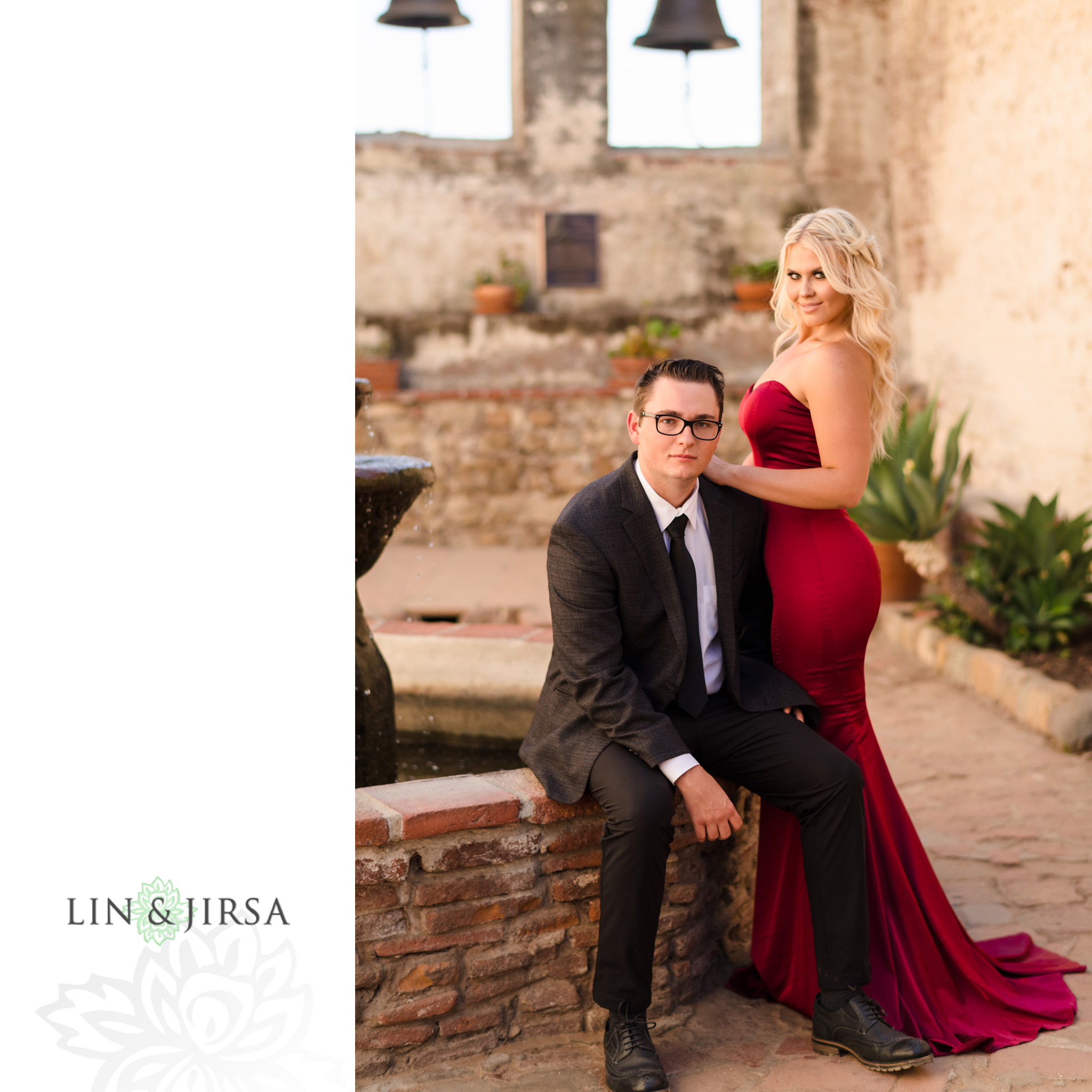 05 San Juan Capistrano Mission Engagement Photography