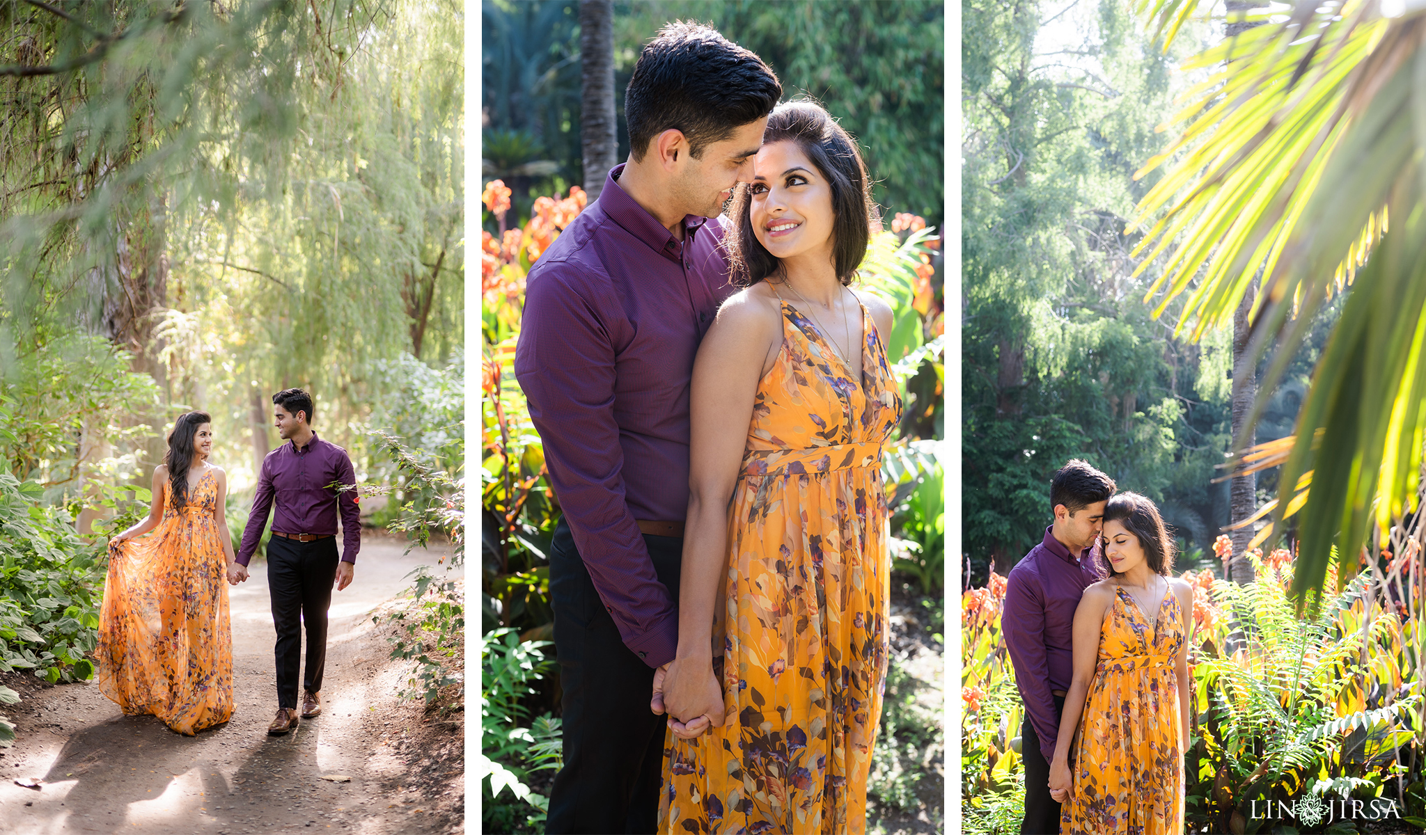 08 Los Angeles Arboretum Arcadia Engagement Photography