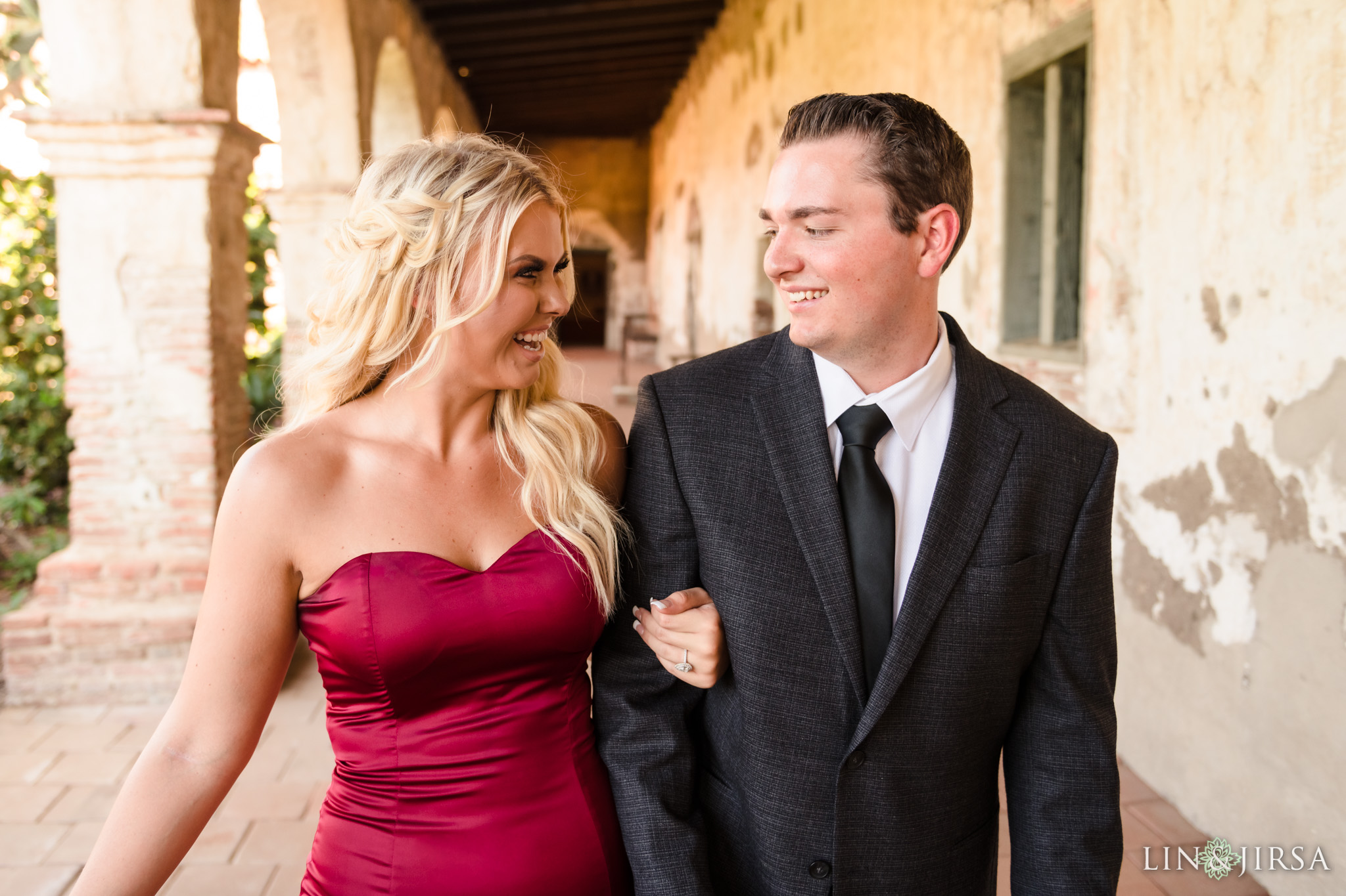 08 San Juan Capistrano Mission Engagement Photography