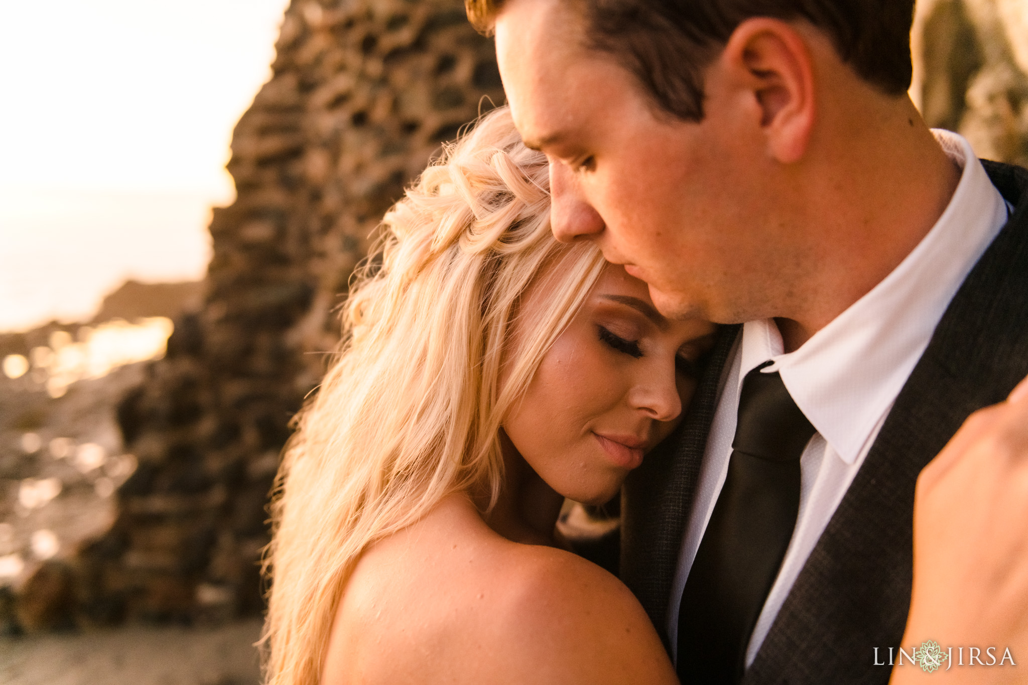 13 Orange County Sunset Beach Engagement Photography
